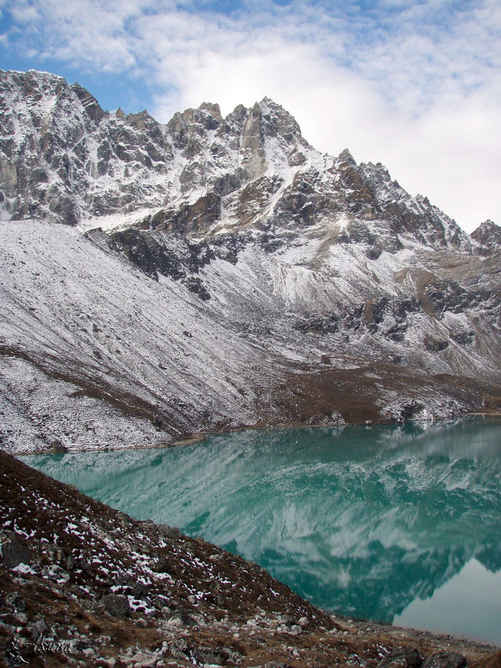 Best time for Observing Everest from the Gokyo Lakes in Nepal 2019