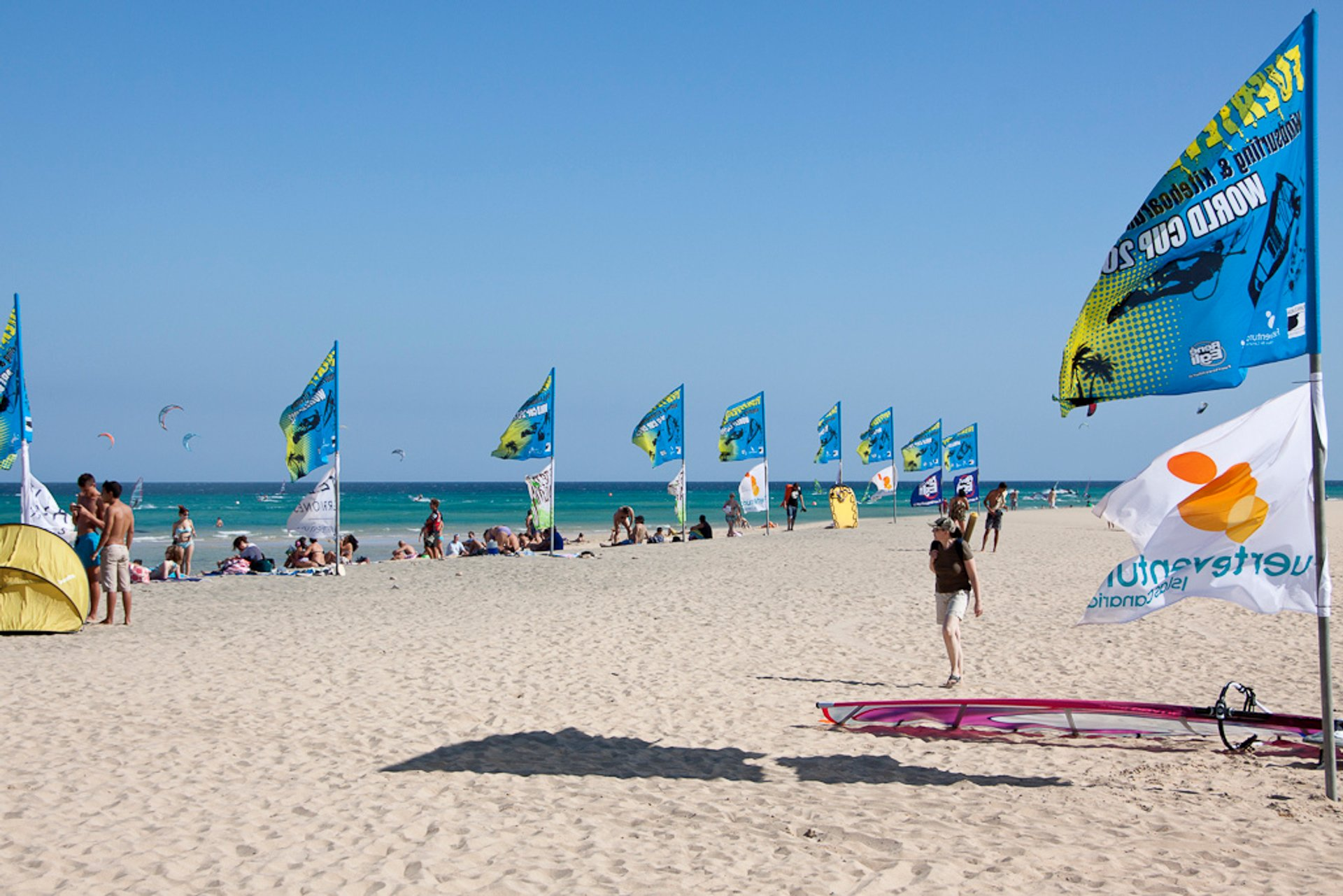 Best time for Fuerteventura Windsurfing & Kitesurfing World Cup in Canary Islands 2019