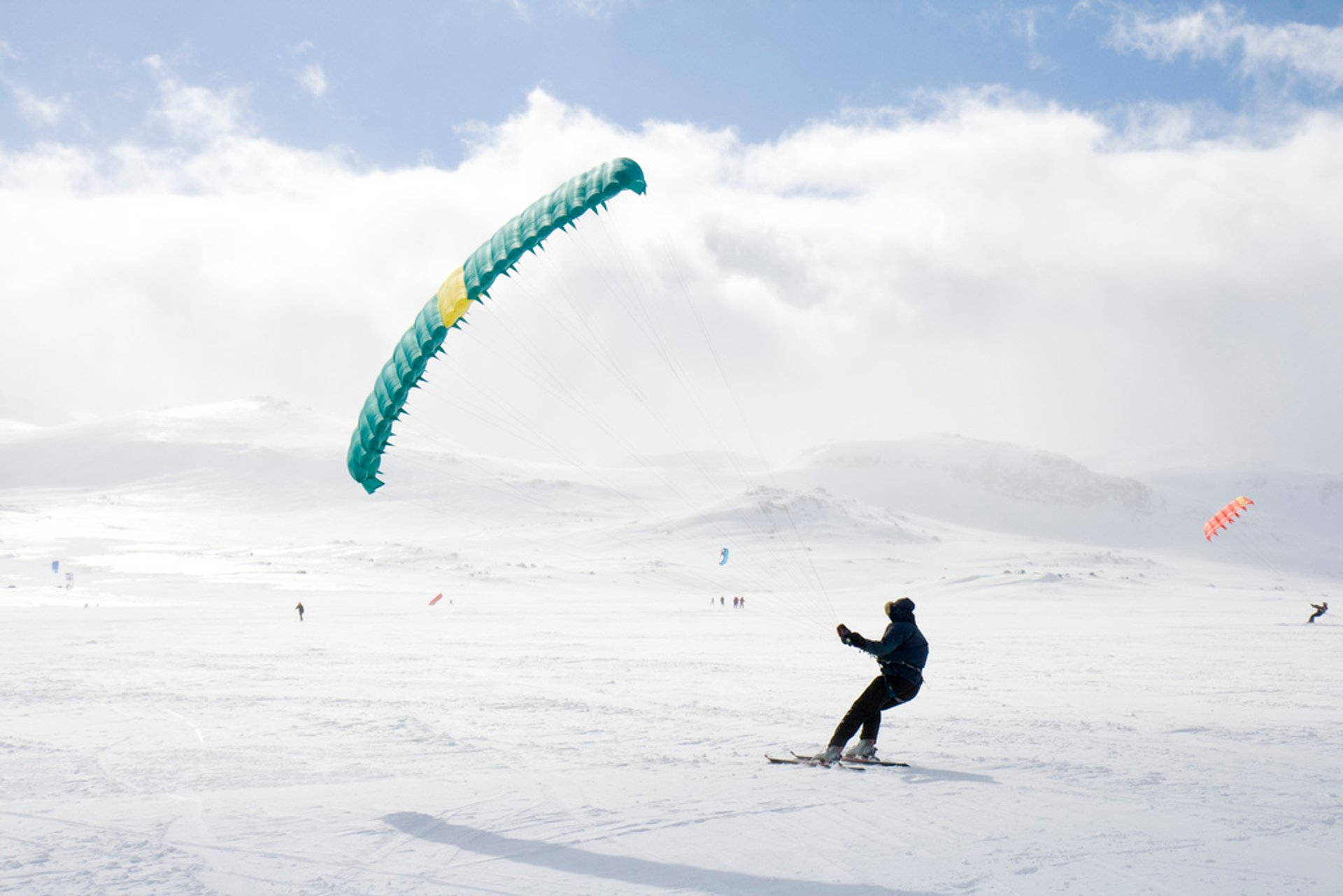 Snow Kiting in Norway 2019 - Best Time