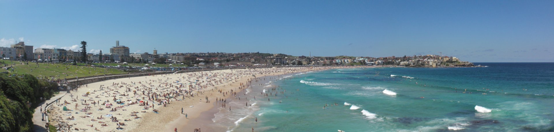 Bondi Beach panorama 2019