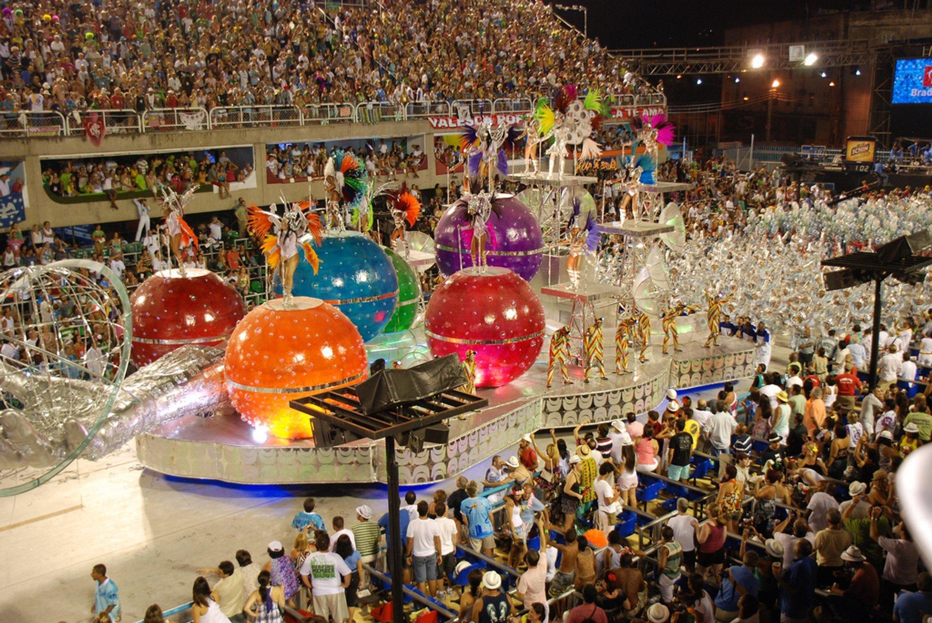 Best time for Rio Carnival in Rio de Janeiro 2020