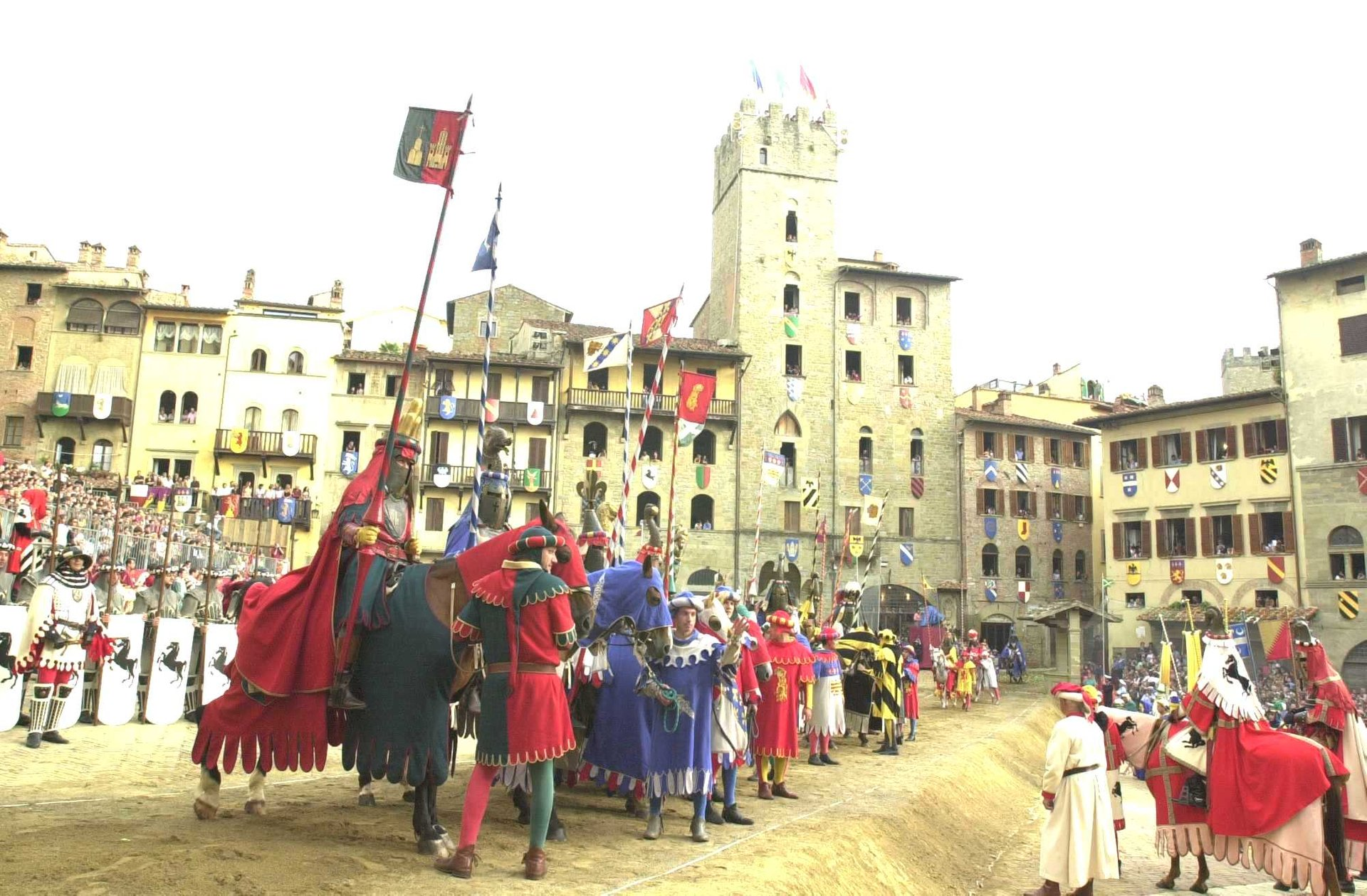 Best time for Giostra del Saracino (Joust of the Saracens) 2020