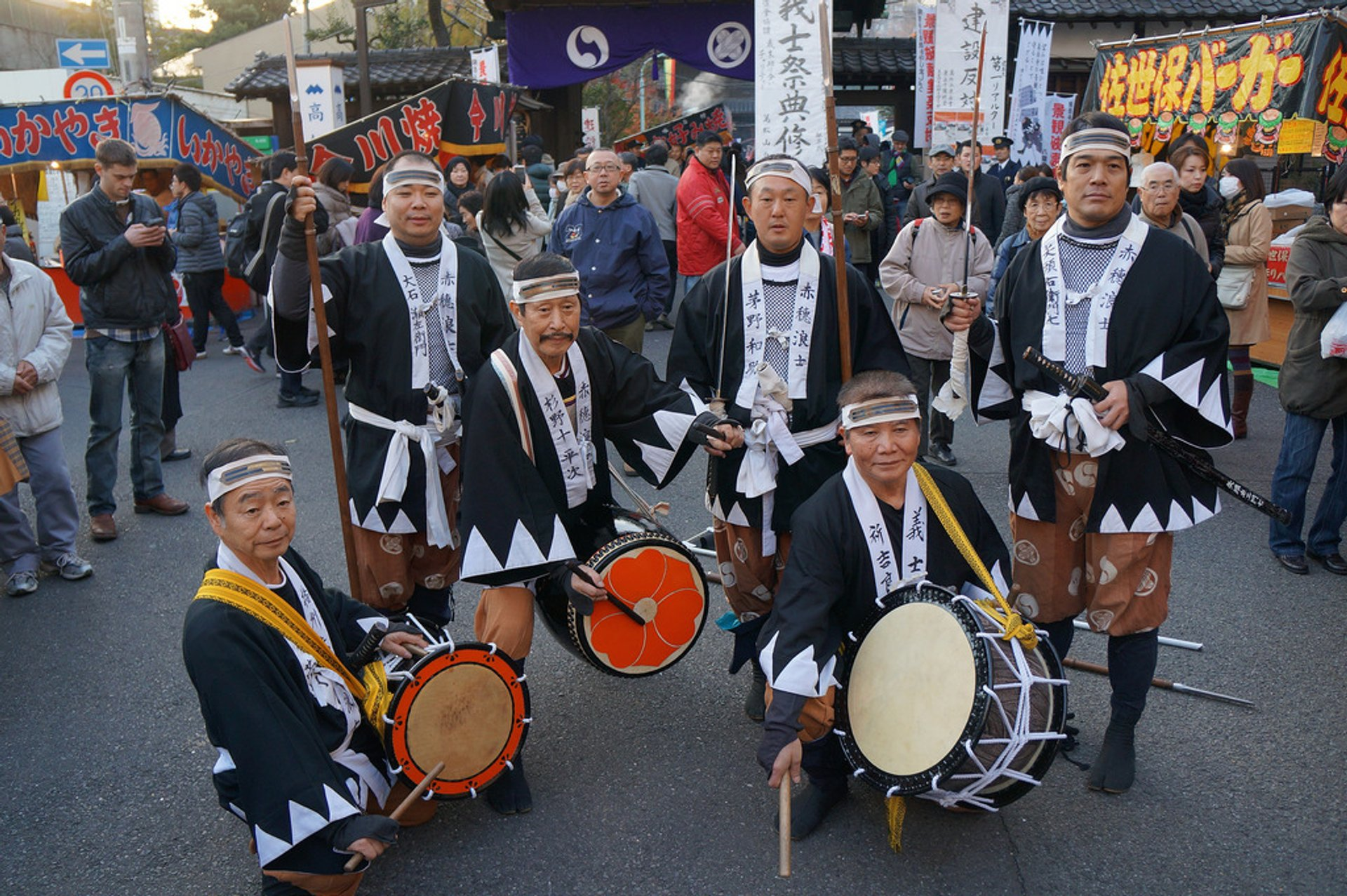 Best time to see Ako Gishi-sai Festival in Tokyo 2020