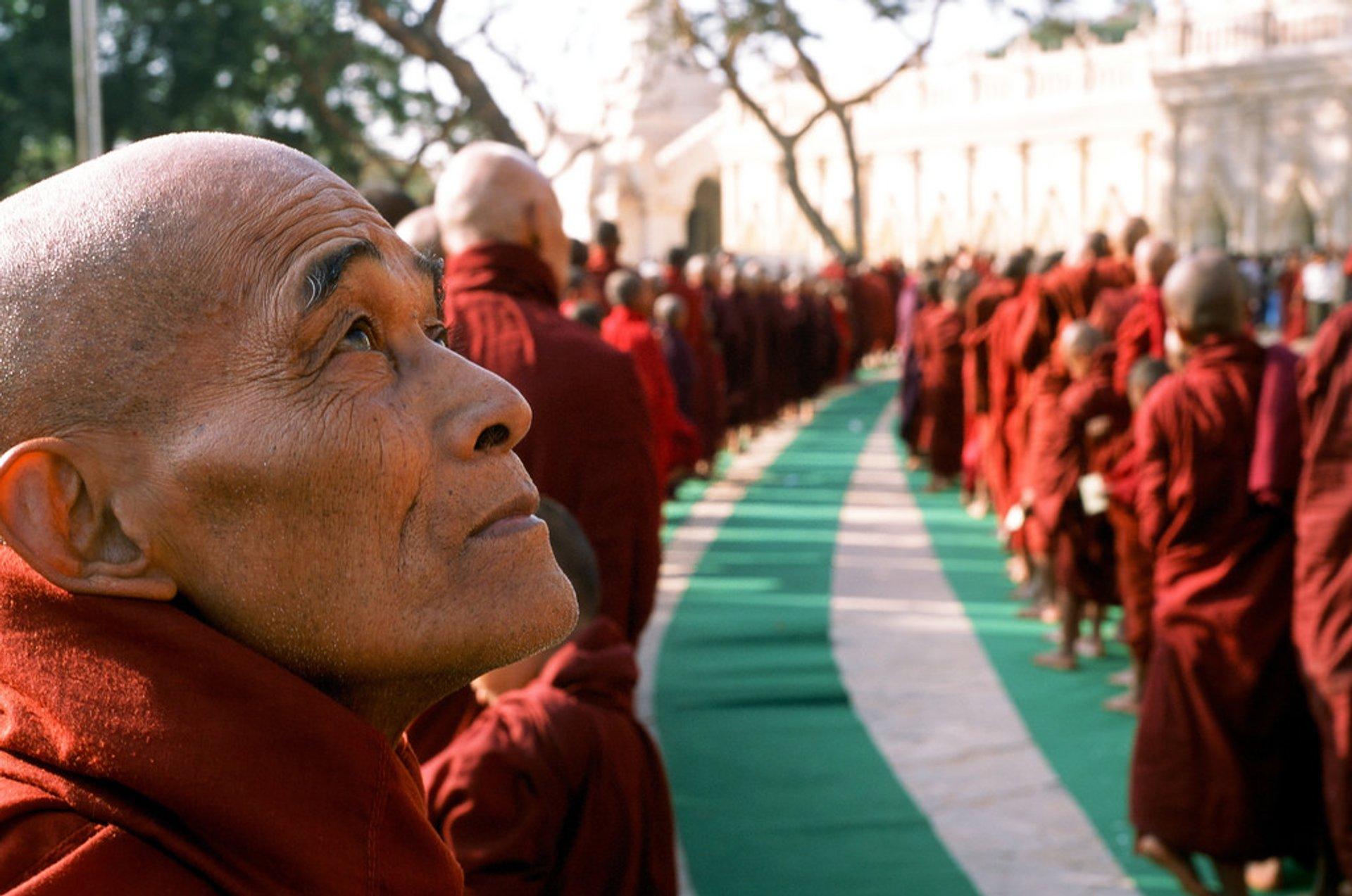 Best time for Ananda Pagoda Festival in Myanmar