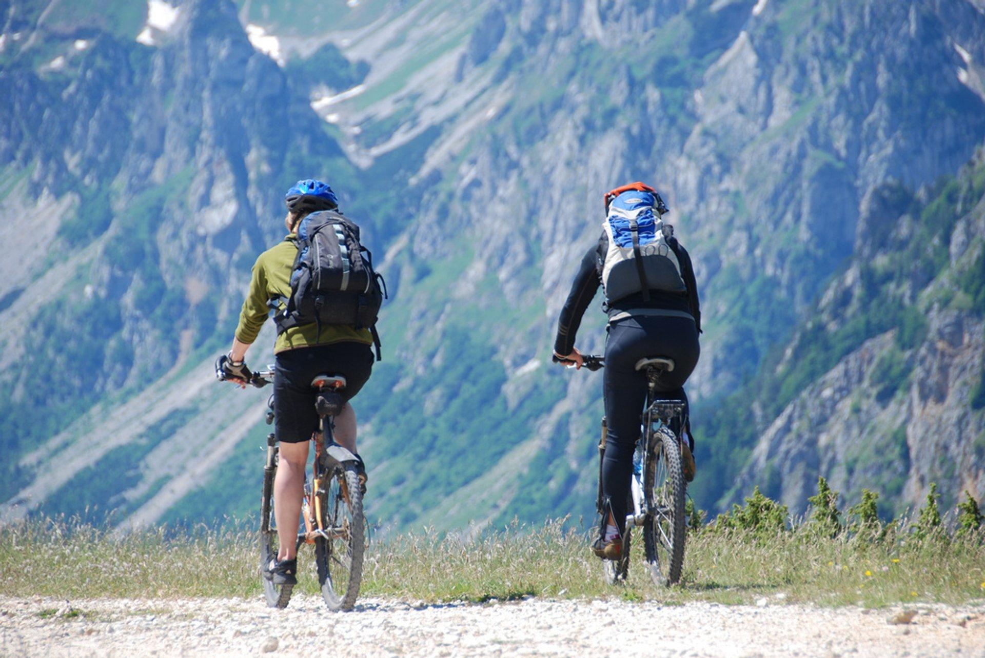 Biking in Montenegro - Best Season