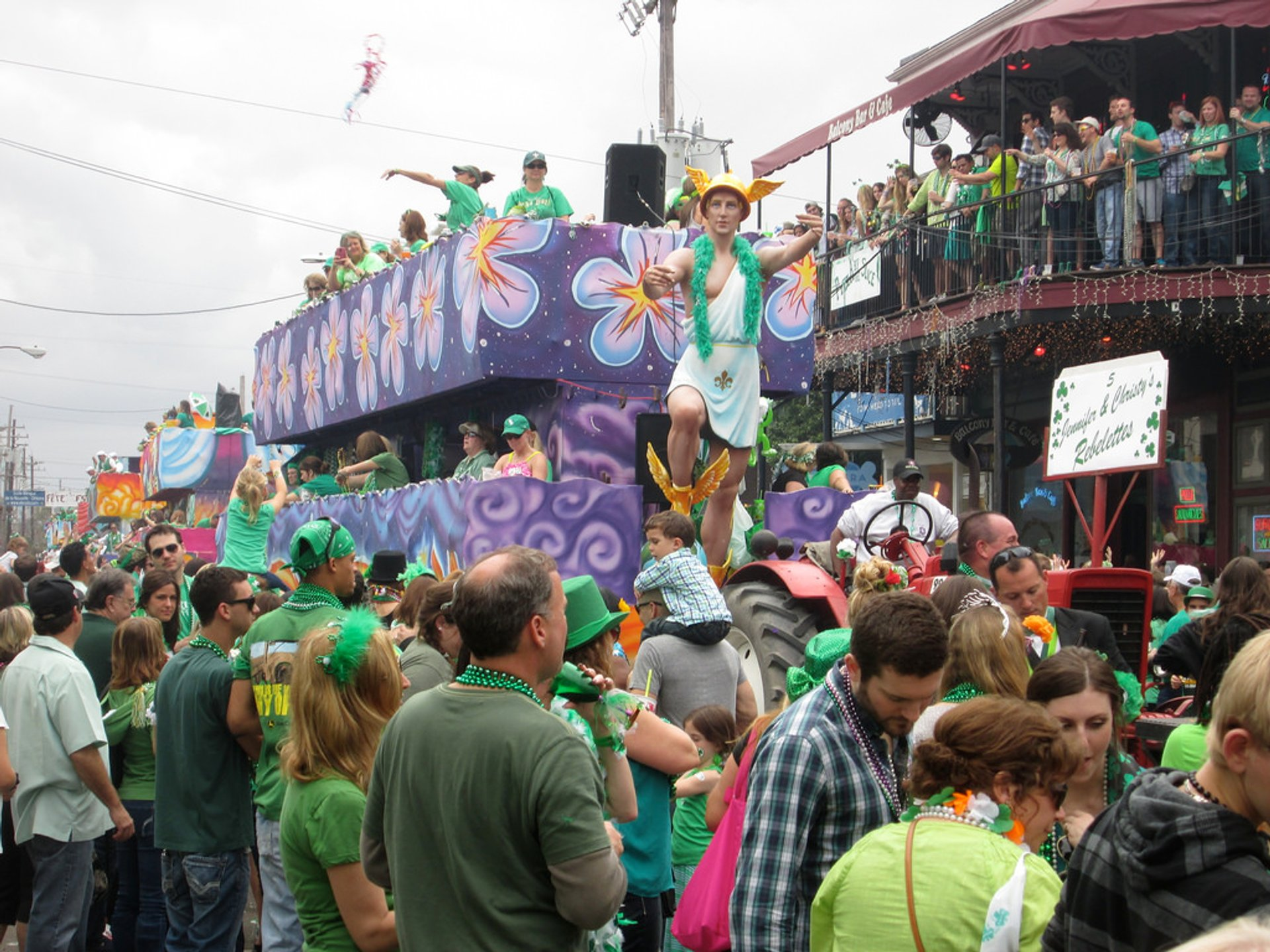 St. Patrick's Day Celebrations in New Orleans 2020 - Best Time