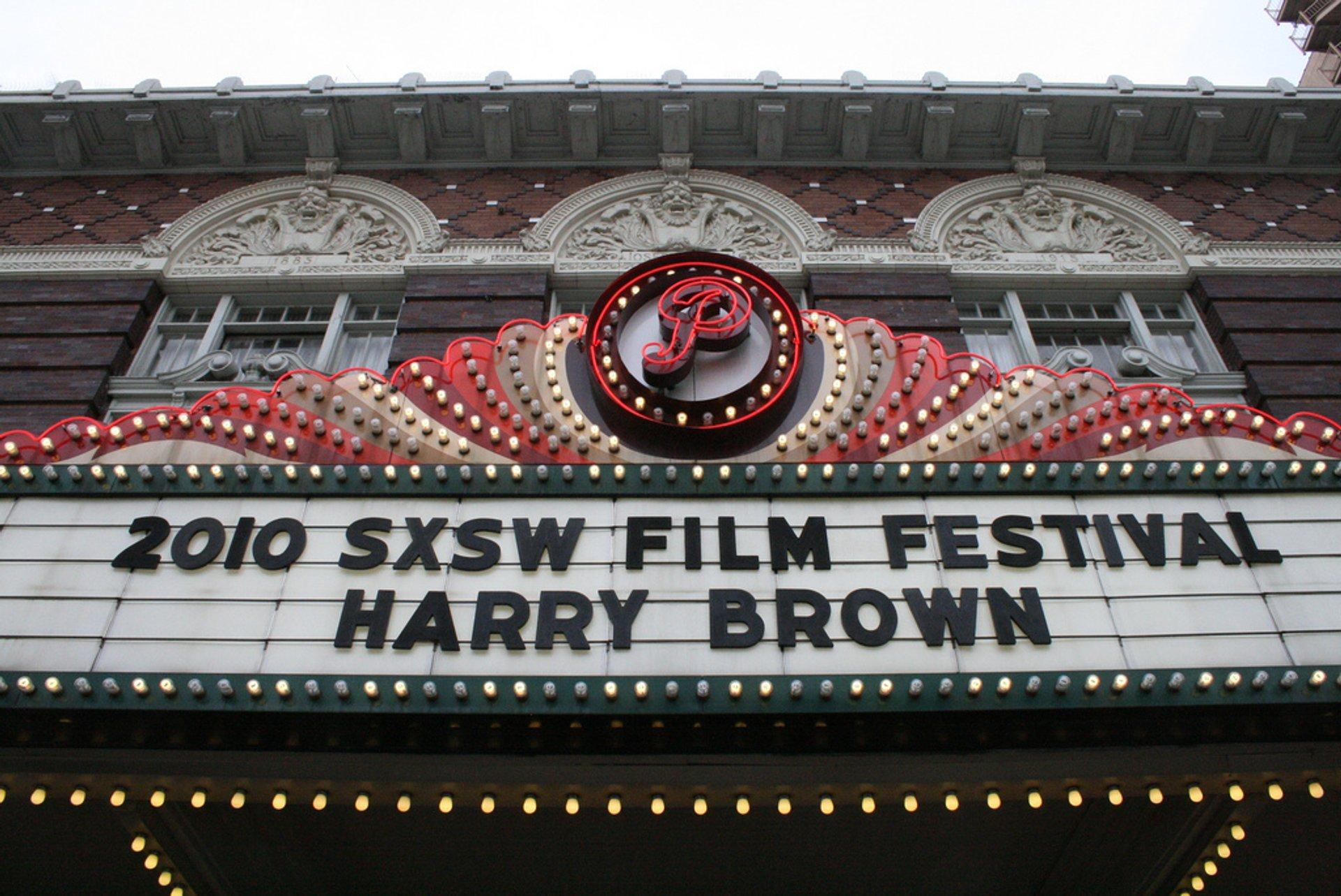 SXSW Film Festival in Texas - Best Season