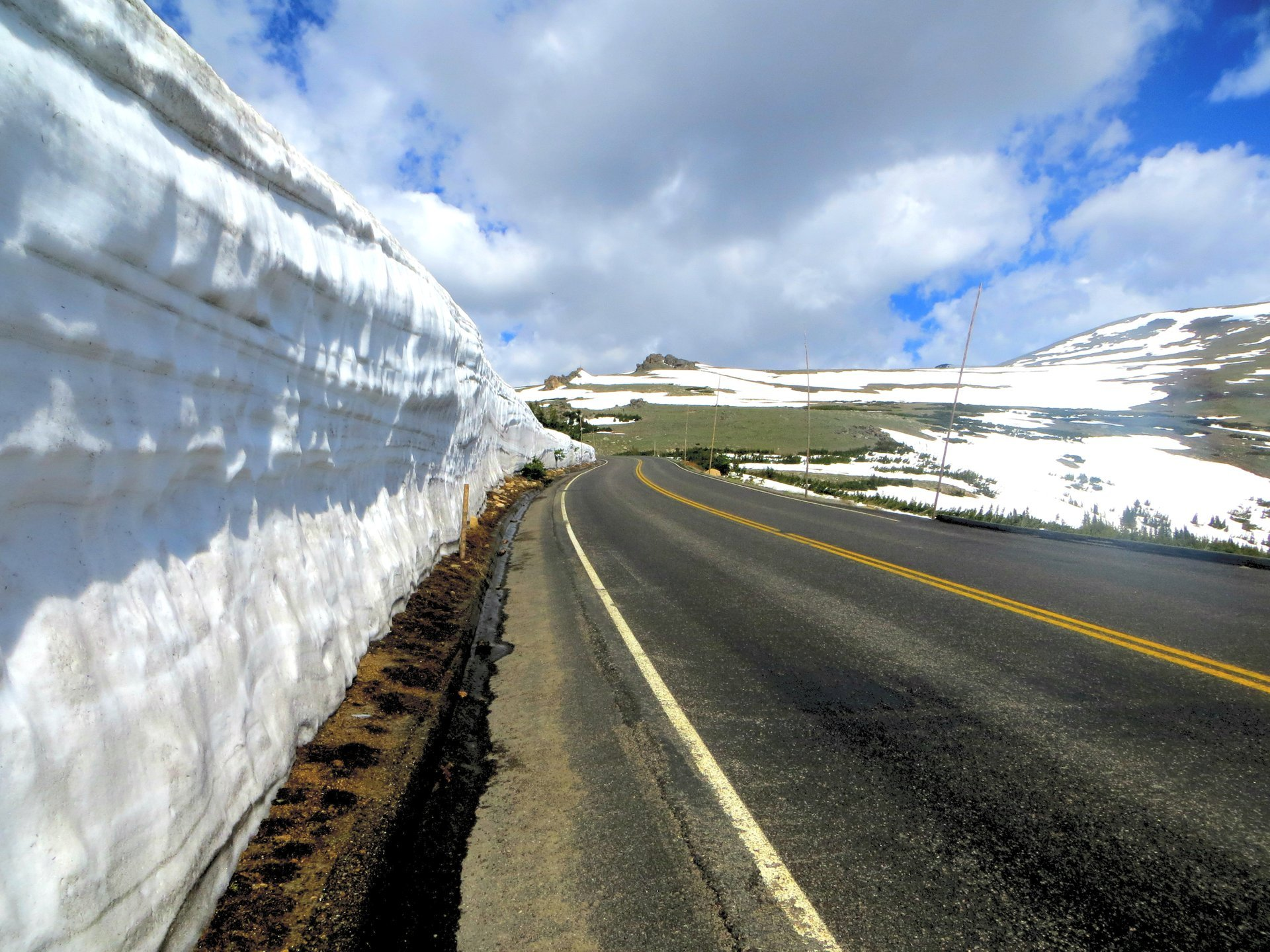 Best time to see Trail Ridge Road 2020