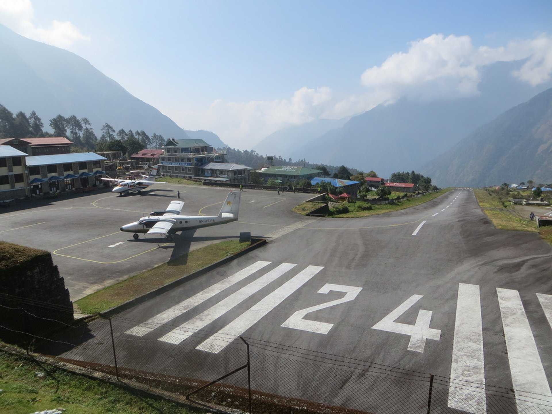 Lukla Tenzing–Hillary Airport in Nepal - Best Season 2020