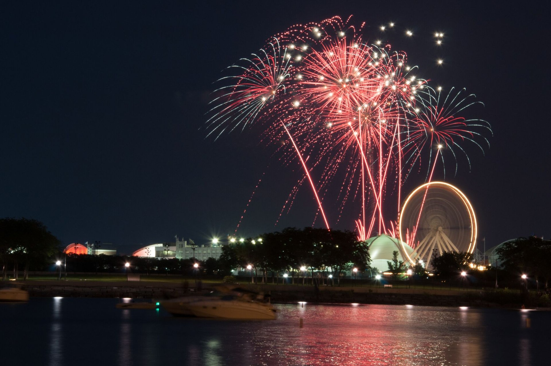 Best time for 4th of July Fireworks & Events in Chicago 2019