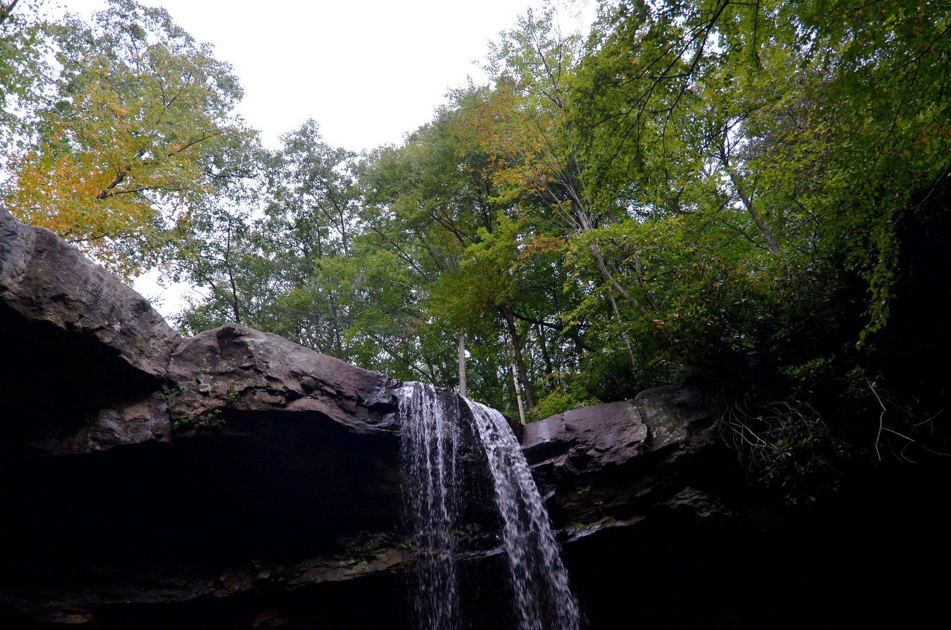 Cucumber Falls in Ohiopyle State Park, Pennsylvania 2020