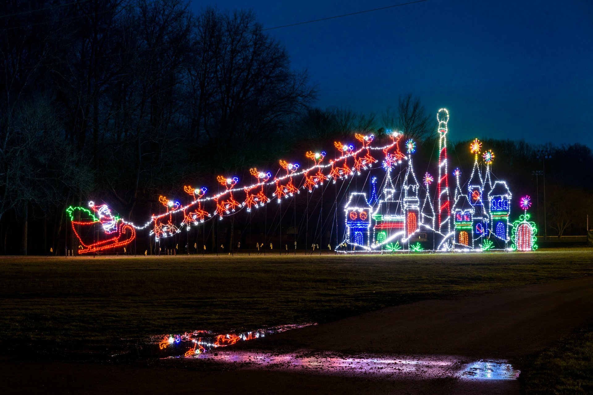 Winter Festival of Lights at Watkins Park  in Maryland 2020 - Best Time