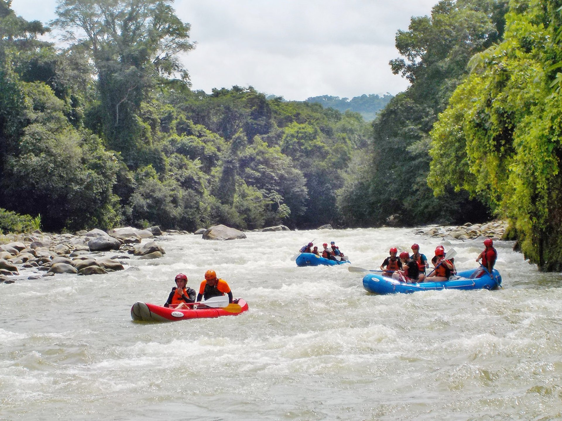 White Water Rafting in Panama 2020 - Best Time