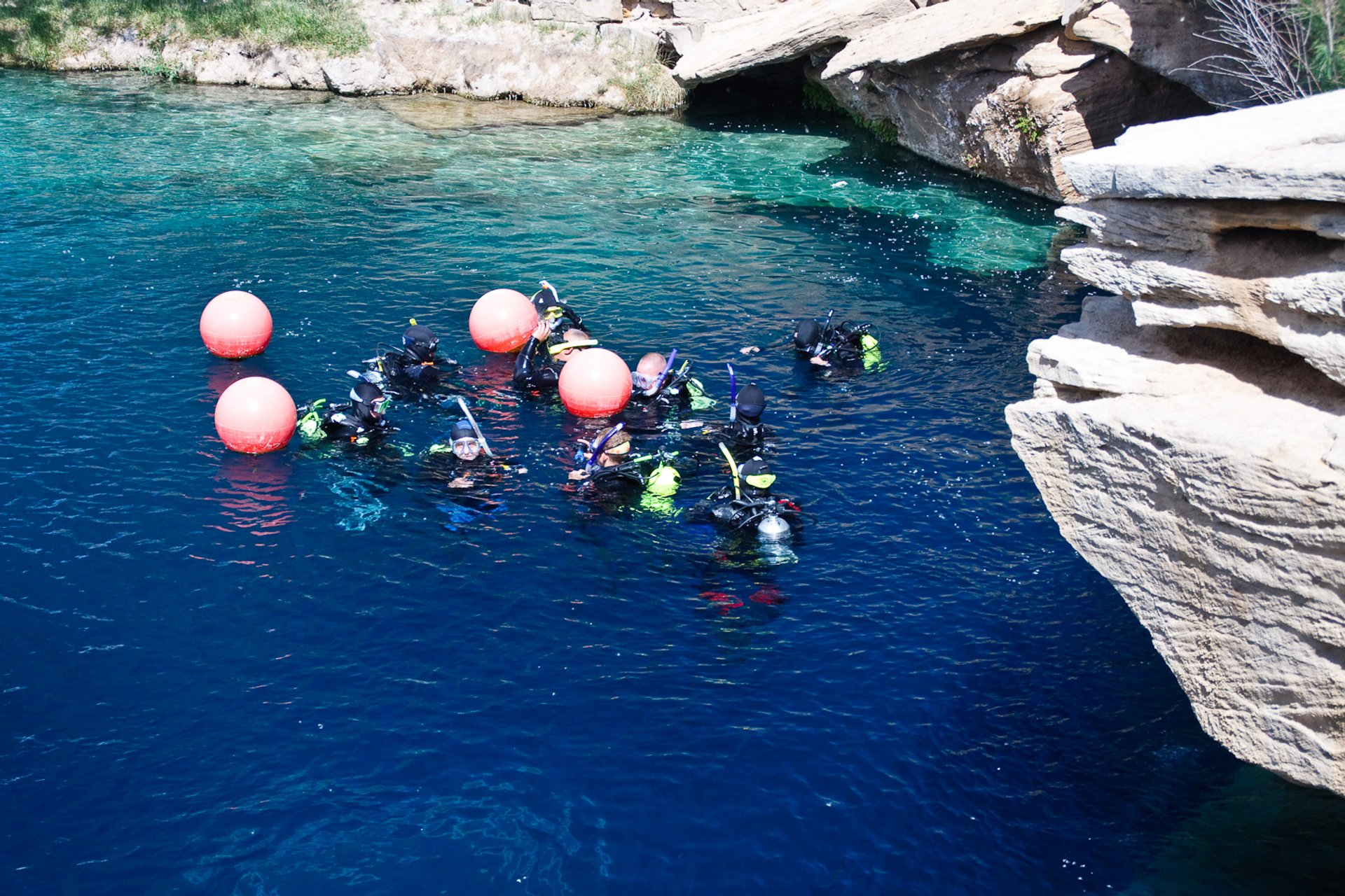 Best time for Santa Rosa Blue Hole in New Mexico 2020