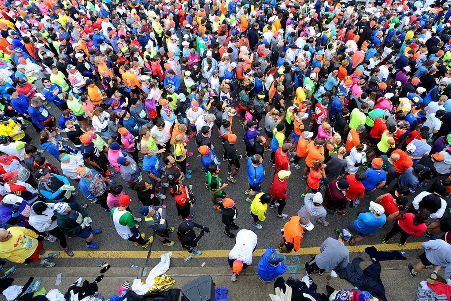 The Marathon kicks off in Staten Island 2020