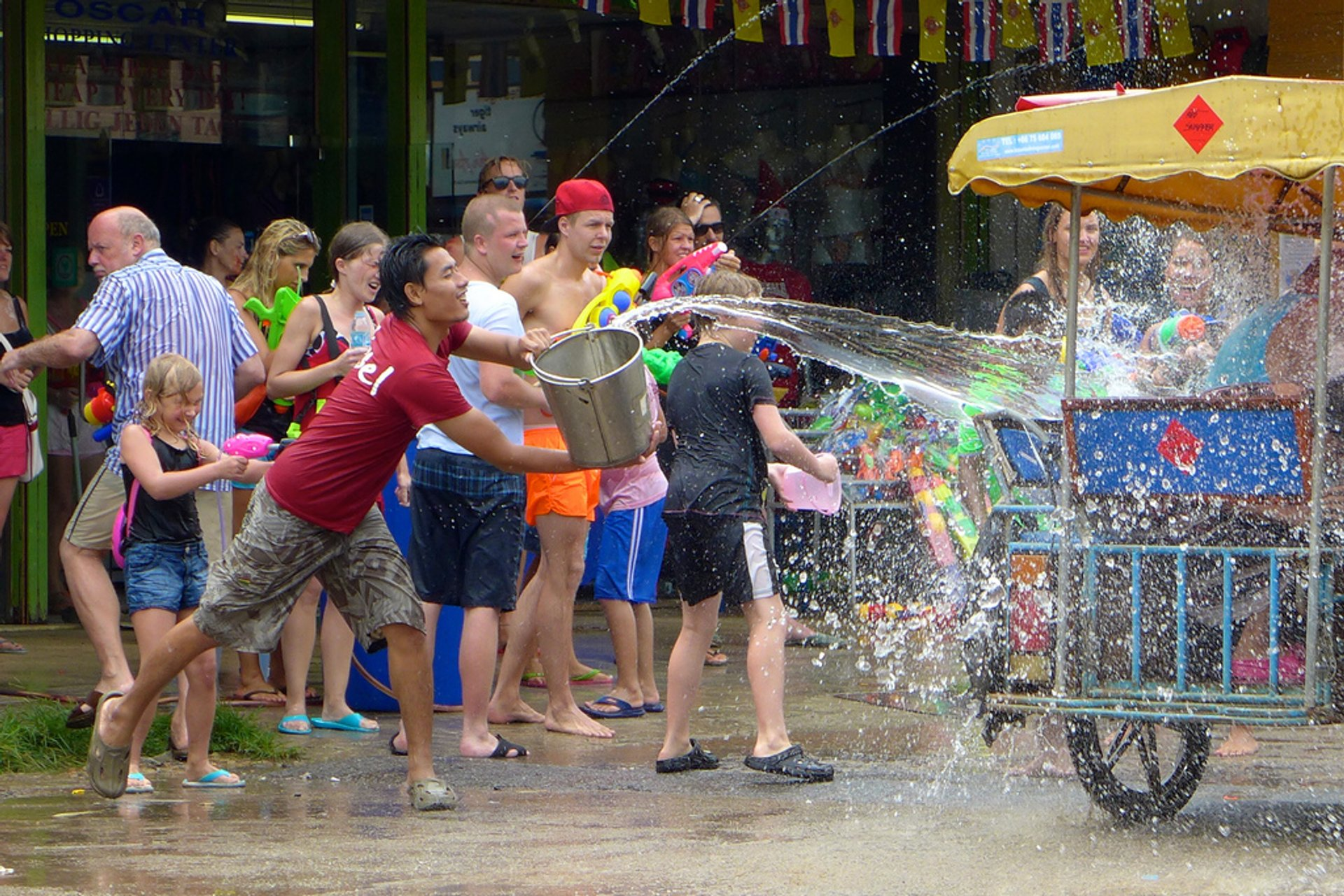 Songkran in Thailand - Best Season 2019