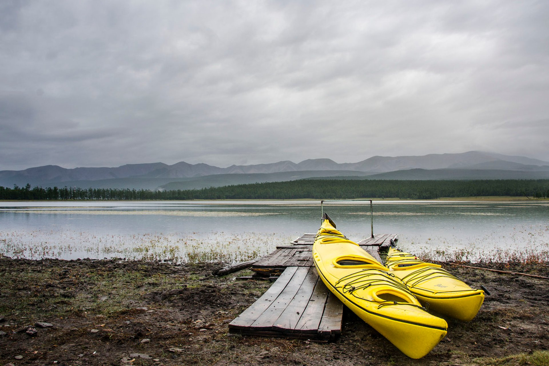 Kayaking and Canoeing in Mongolia 2020 - Best Time