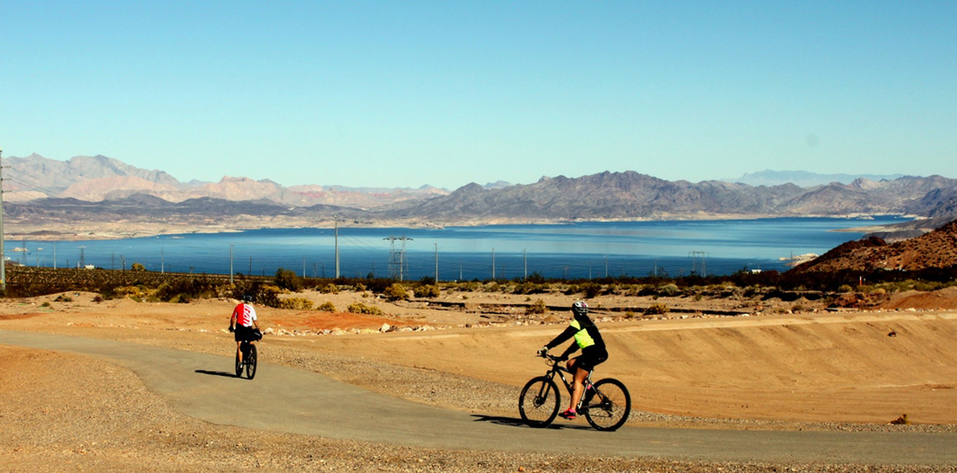 Mountain Biking around Lake Mead in Nevada - Best Season