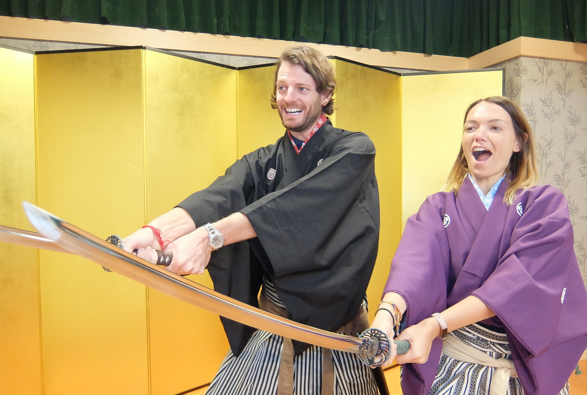 Samurai Kembu (Sword Dance) in Kyoto - Best Season 2019