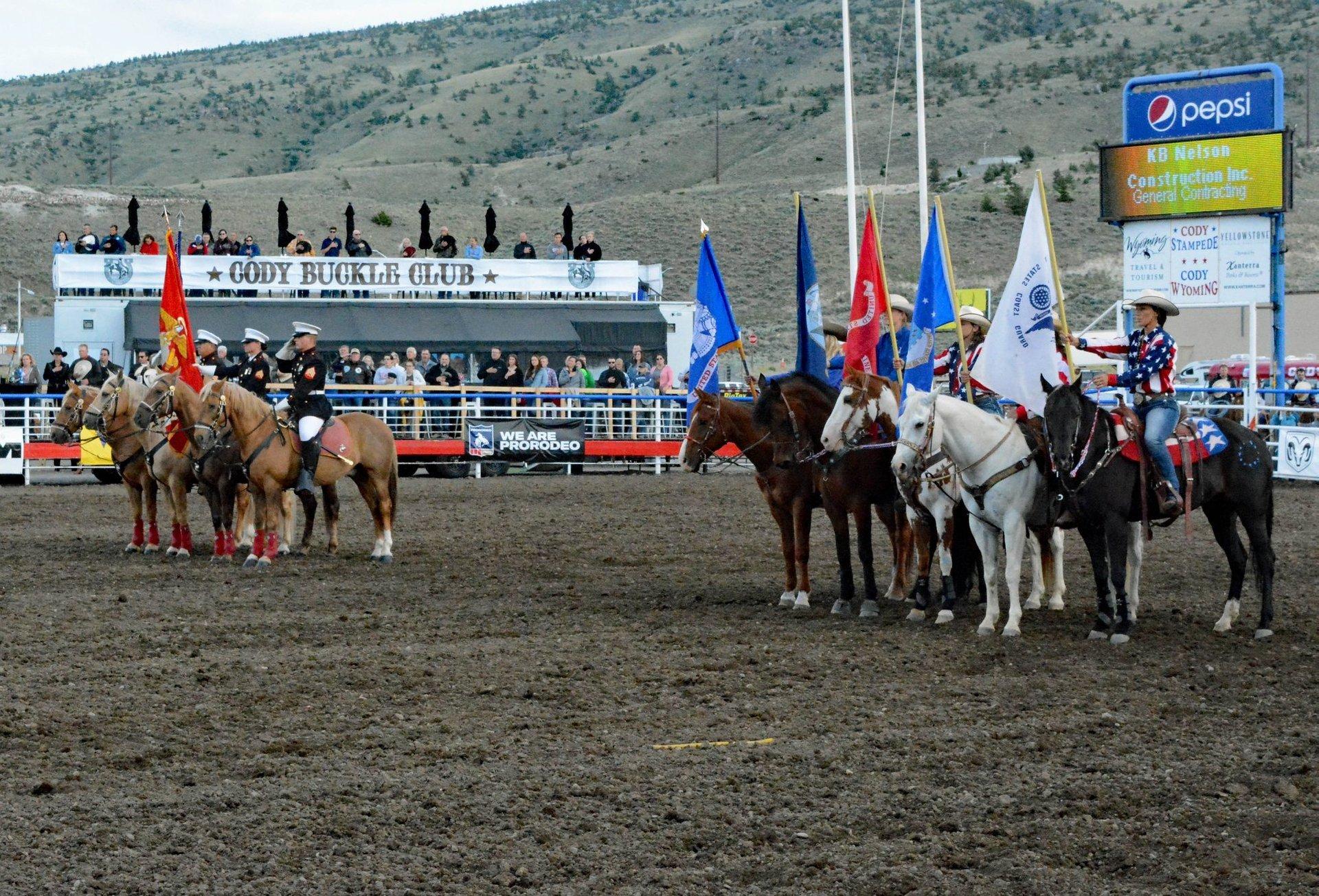 Cody Stampede Rodeo in Wyoming - Best Season 2020