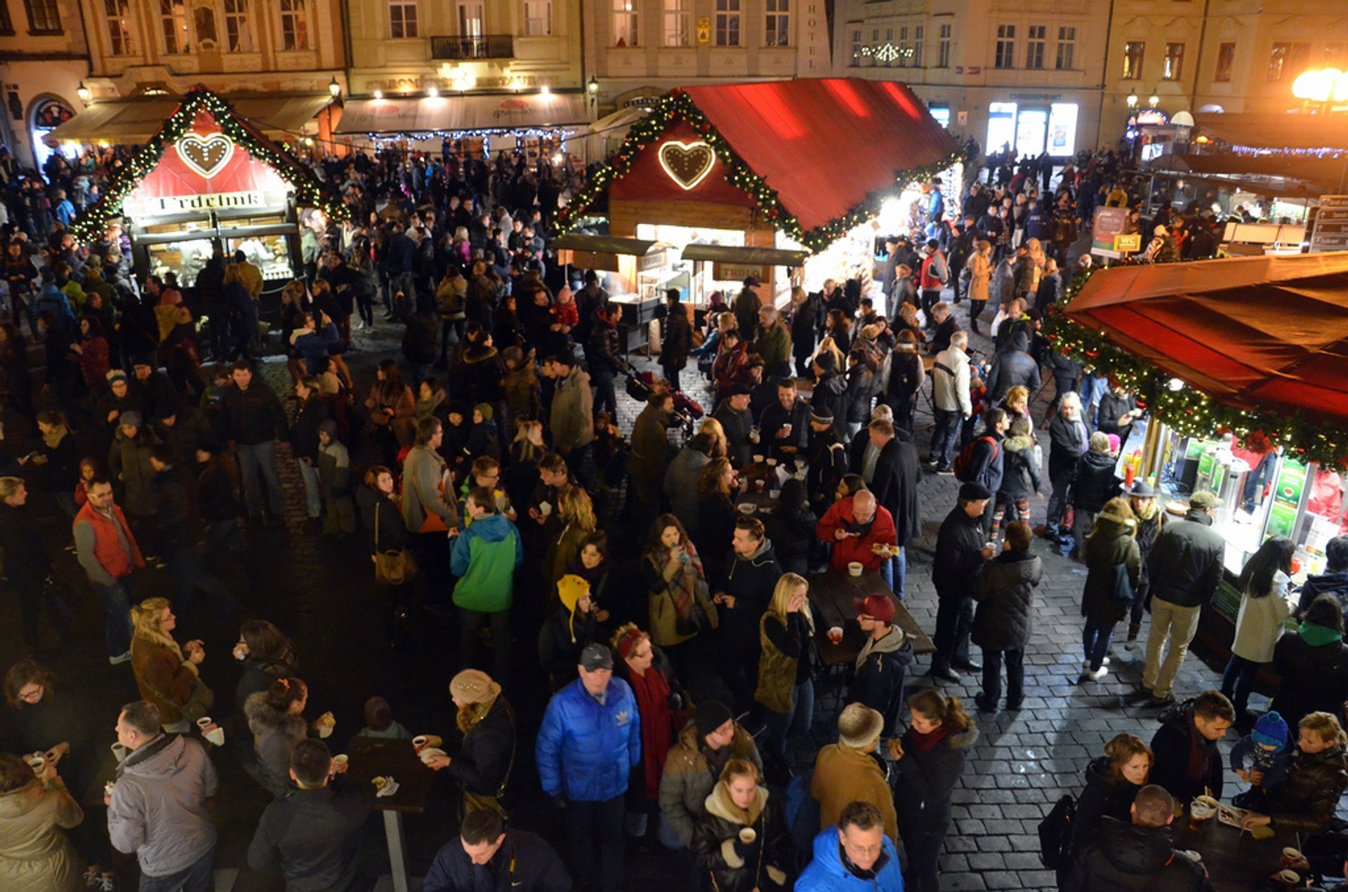 Christmas Market at Old Town Square 2020