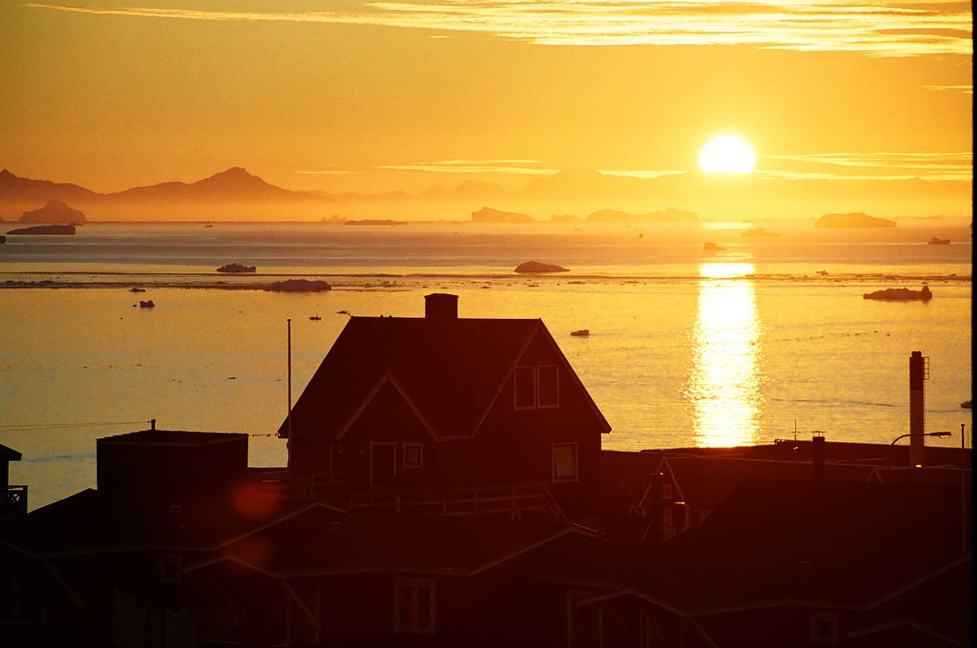 Midnightsailing in Ilulissat 2020