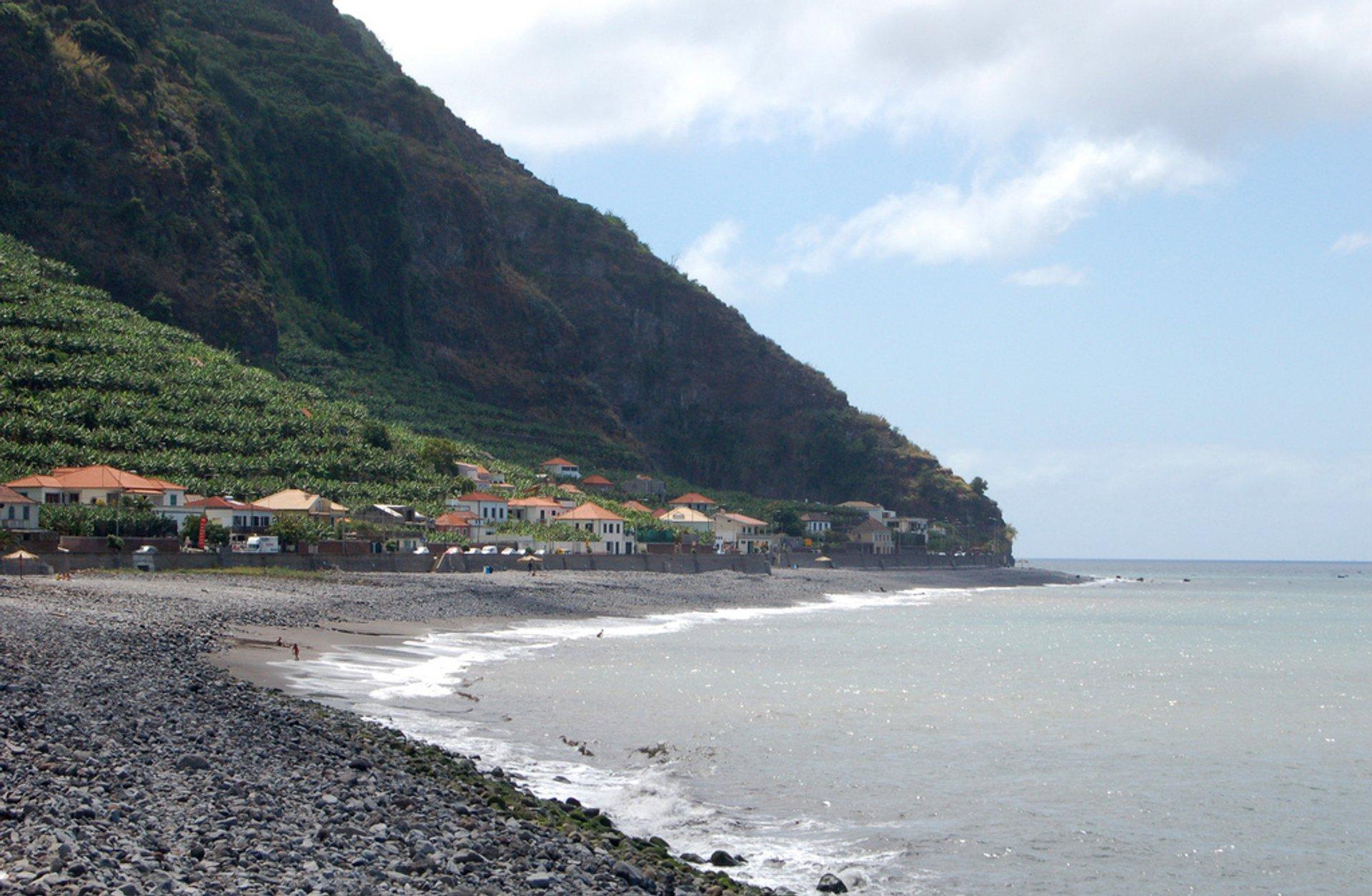 Beach near Calheta 2020