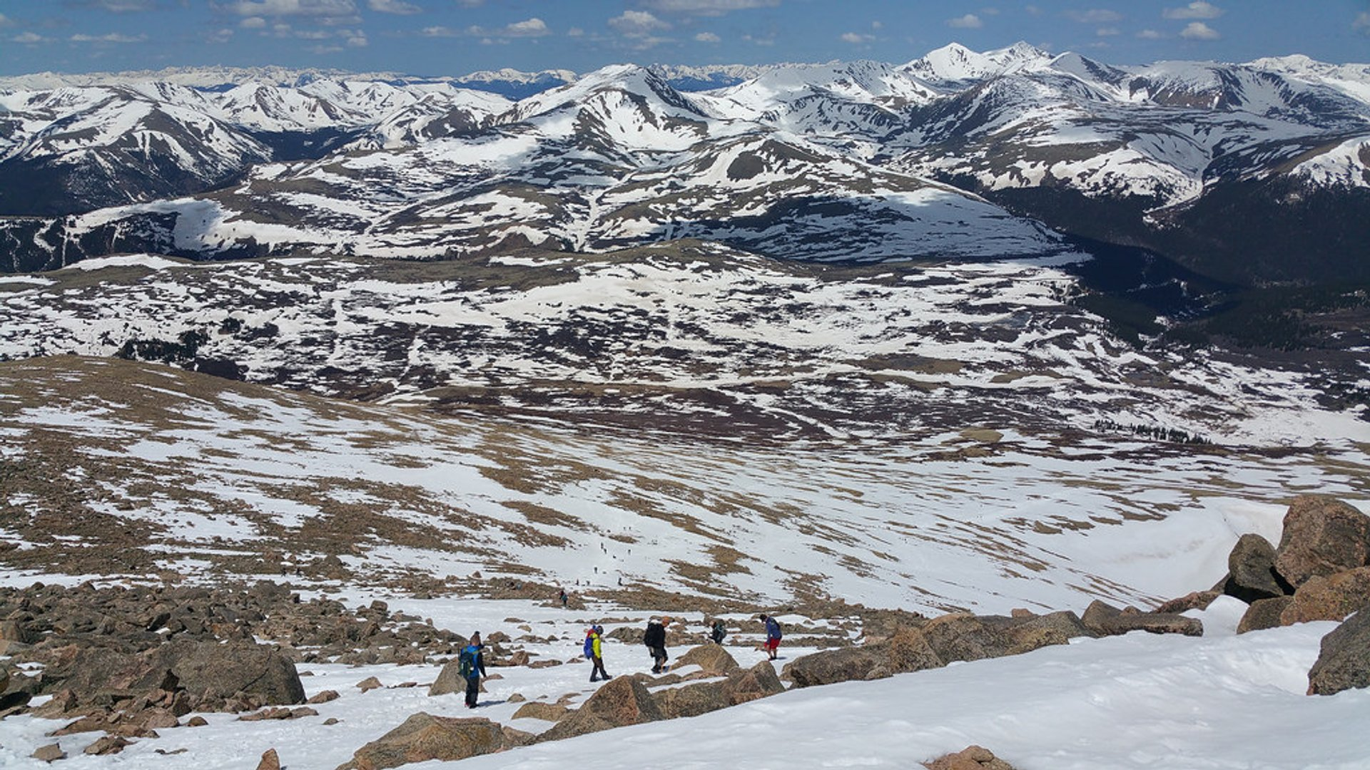 Best time to see Mount Bierstadt 2020