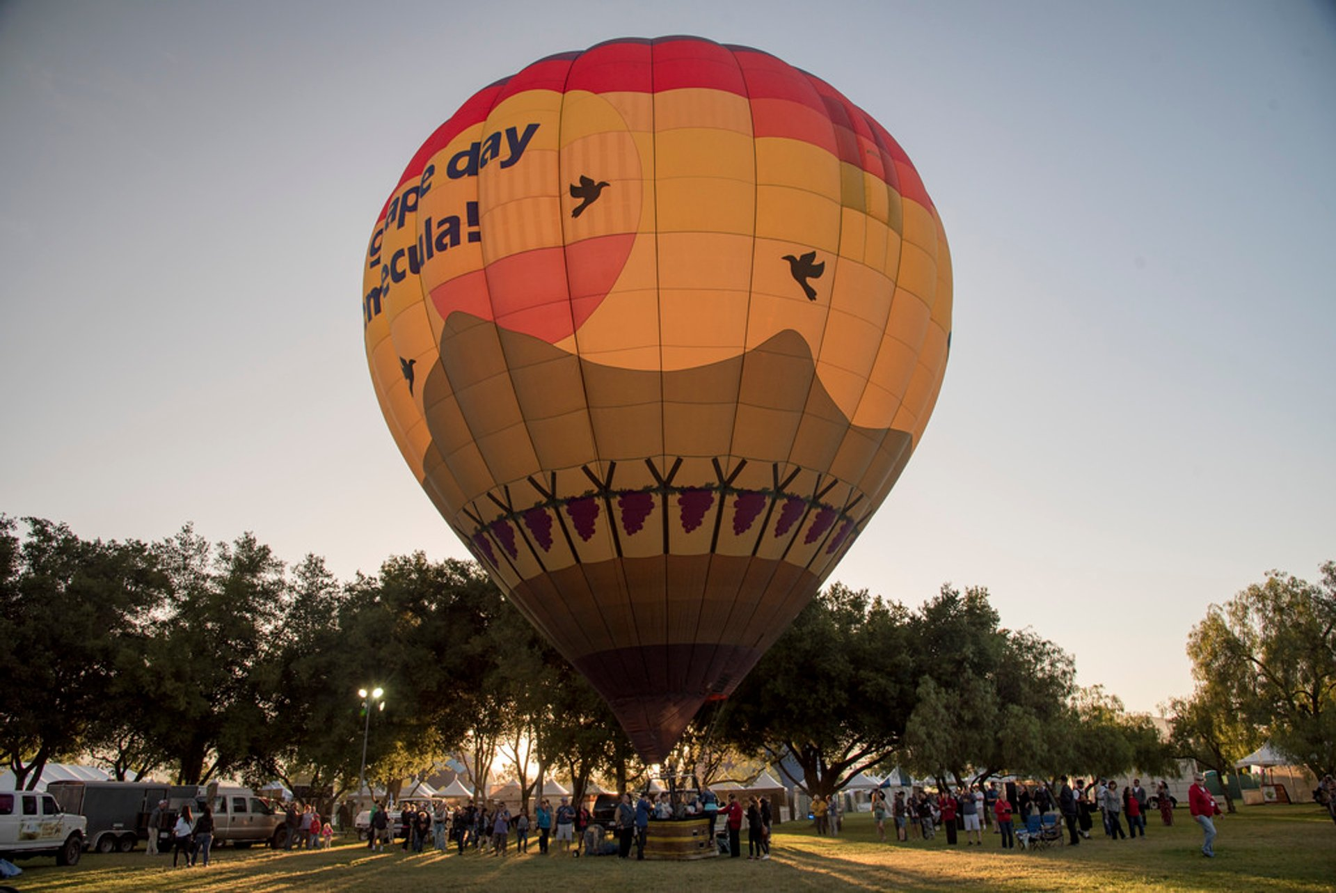 Best time for Temecula Valley Balloon & Wine Festival in California