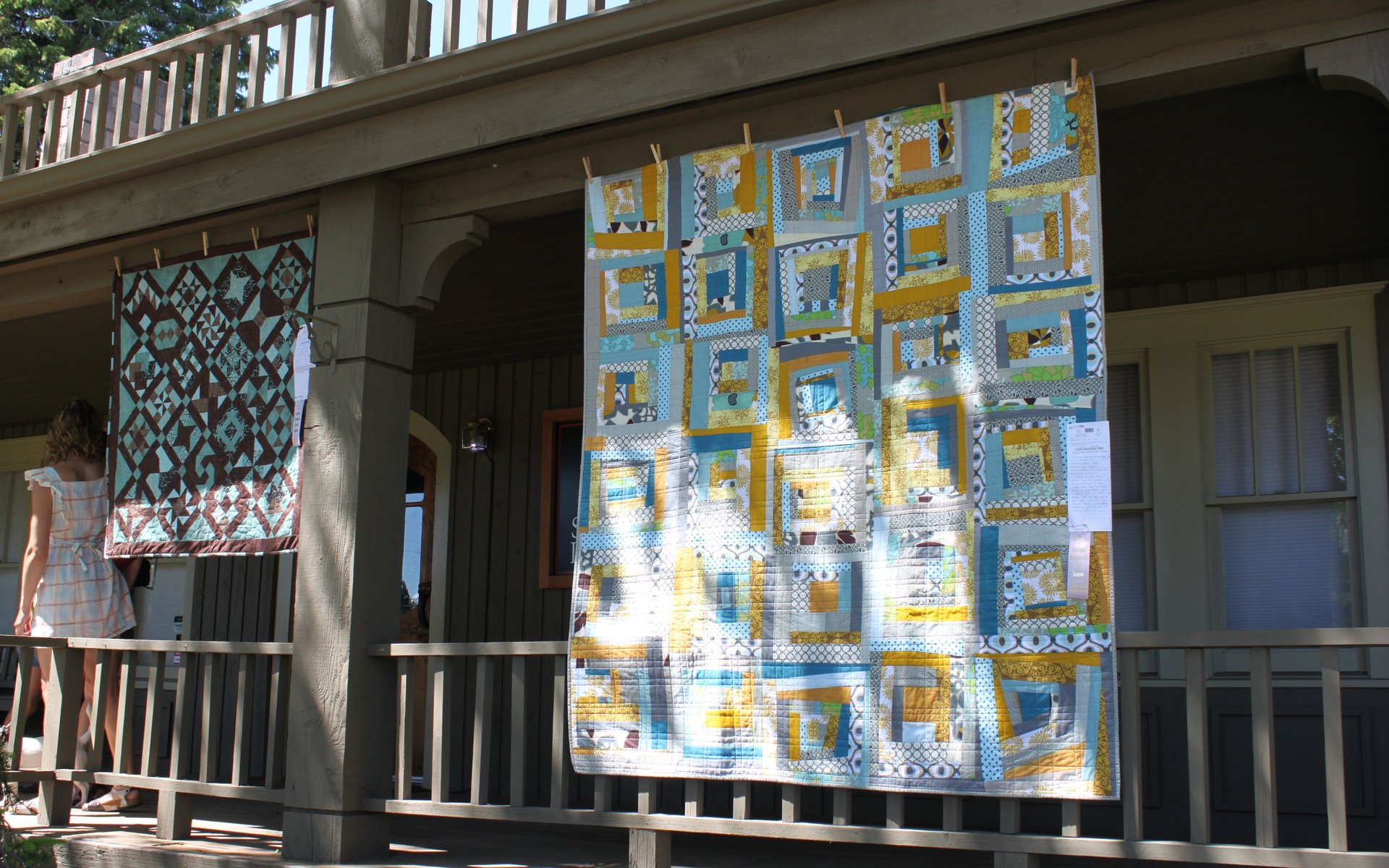 Sisters Outdoor Quilt Show in Oregon - Best Season 2020