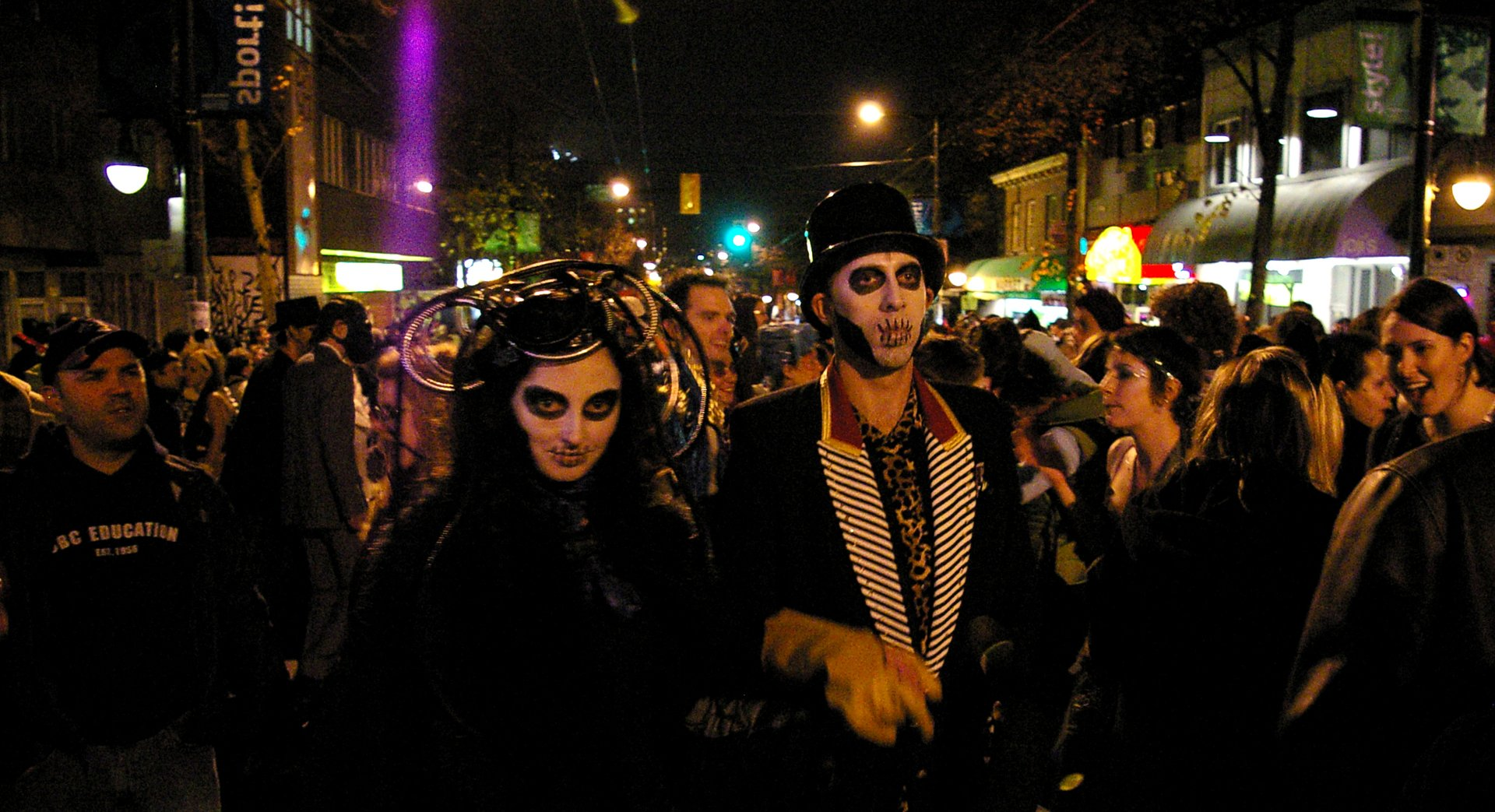 Lady Nightshade & Mr. Pale, Parade of Lost Souls 2020