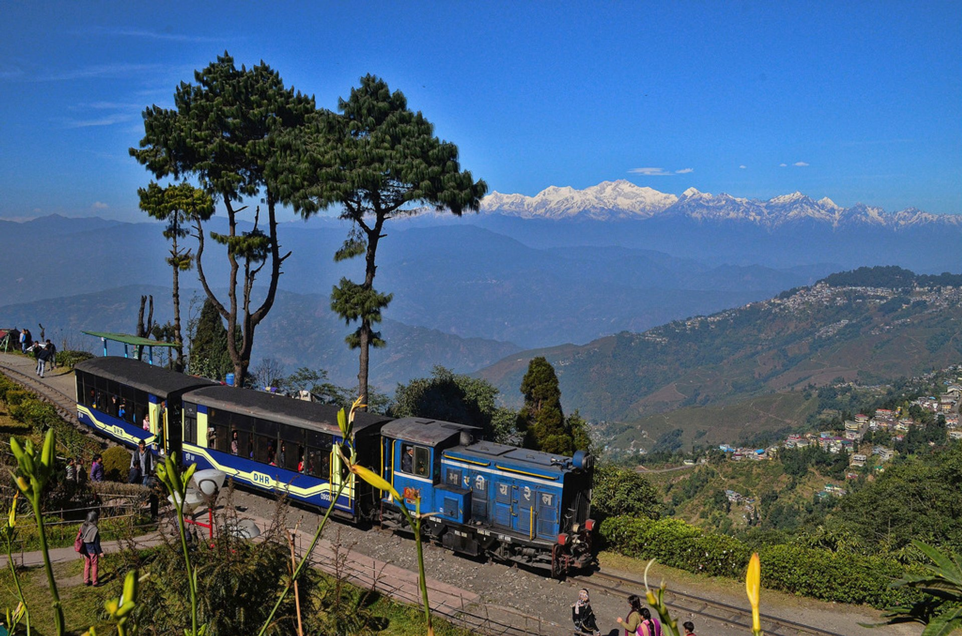 Darjeeling Himalayan Railway in India 2019 - Best Time