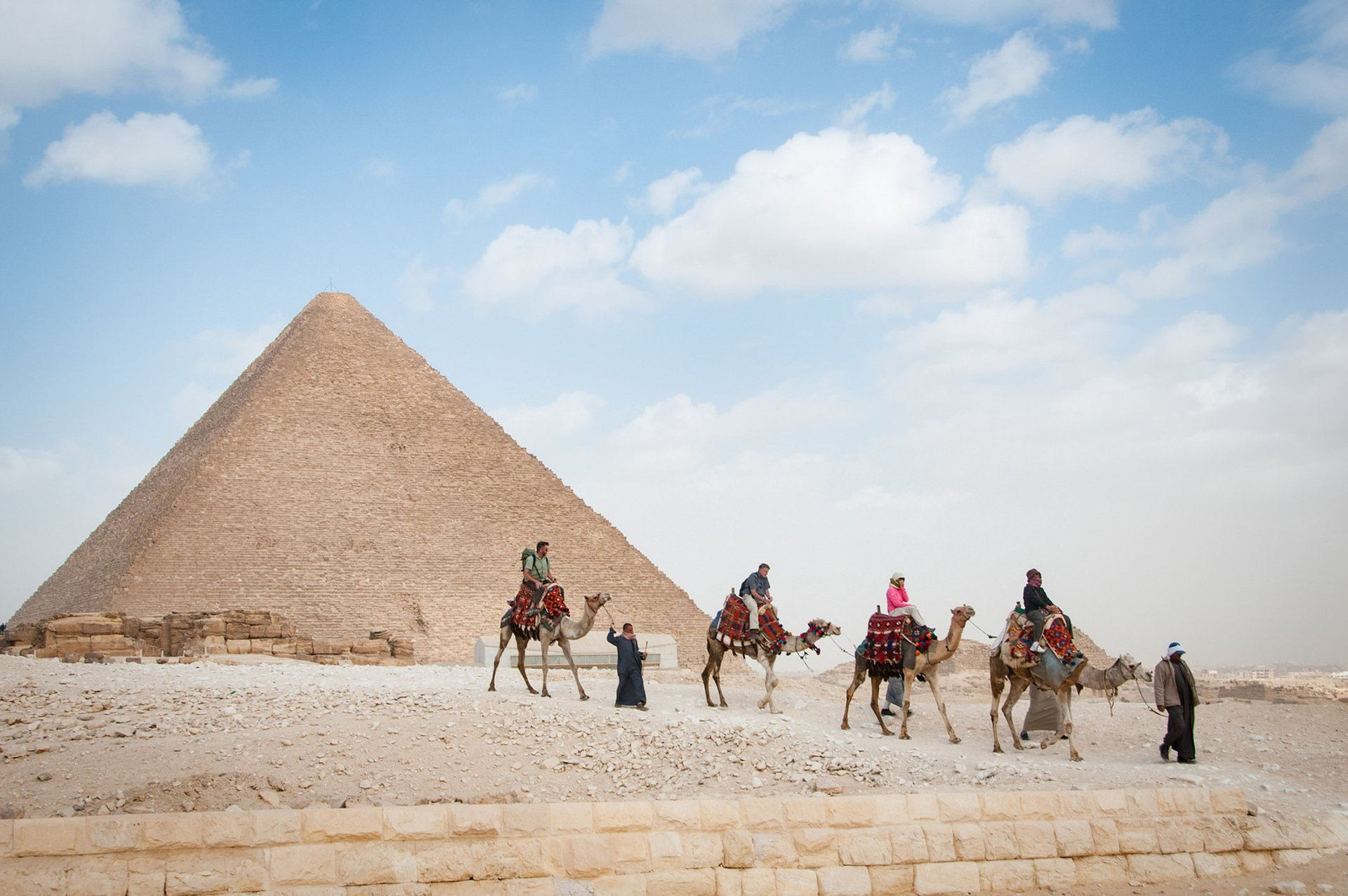 Camel Riding at Giza in Pleasant Weather in Egypt 2020 - Best Time