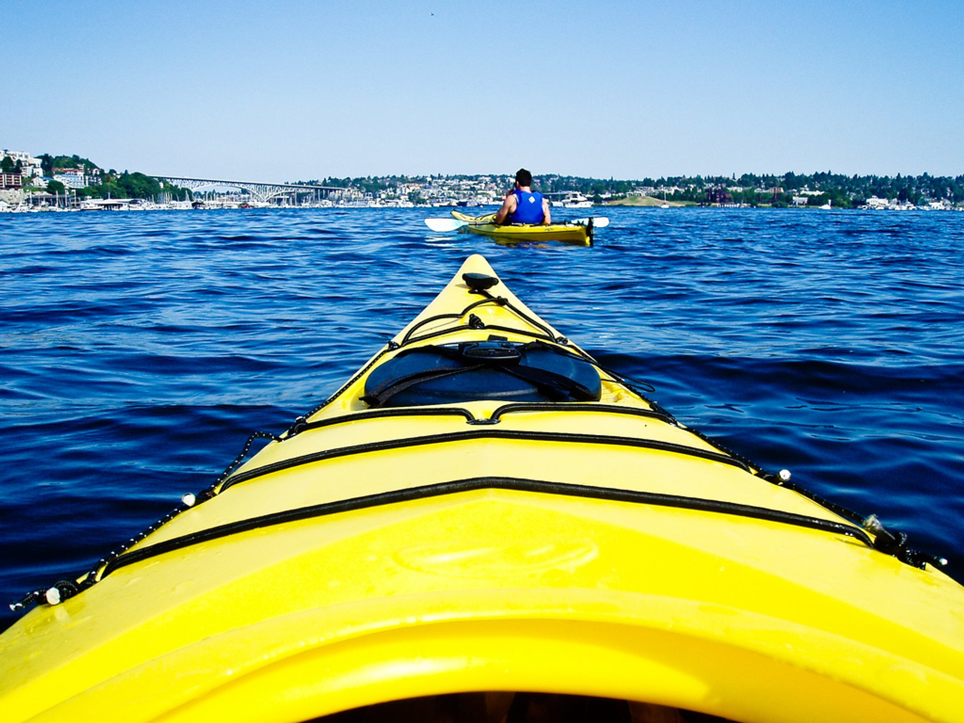 Kayaking on Lake Union 2019