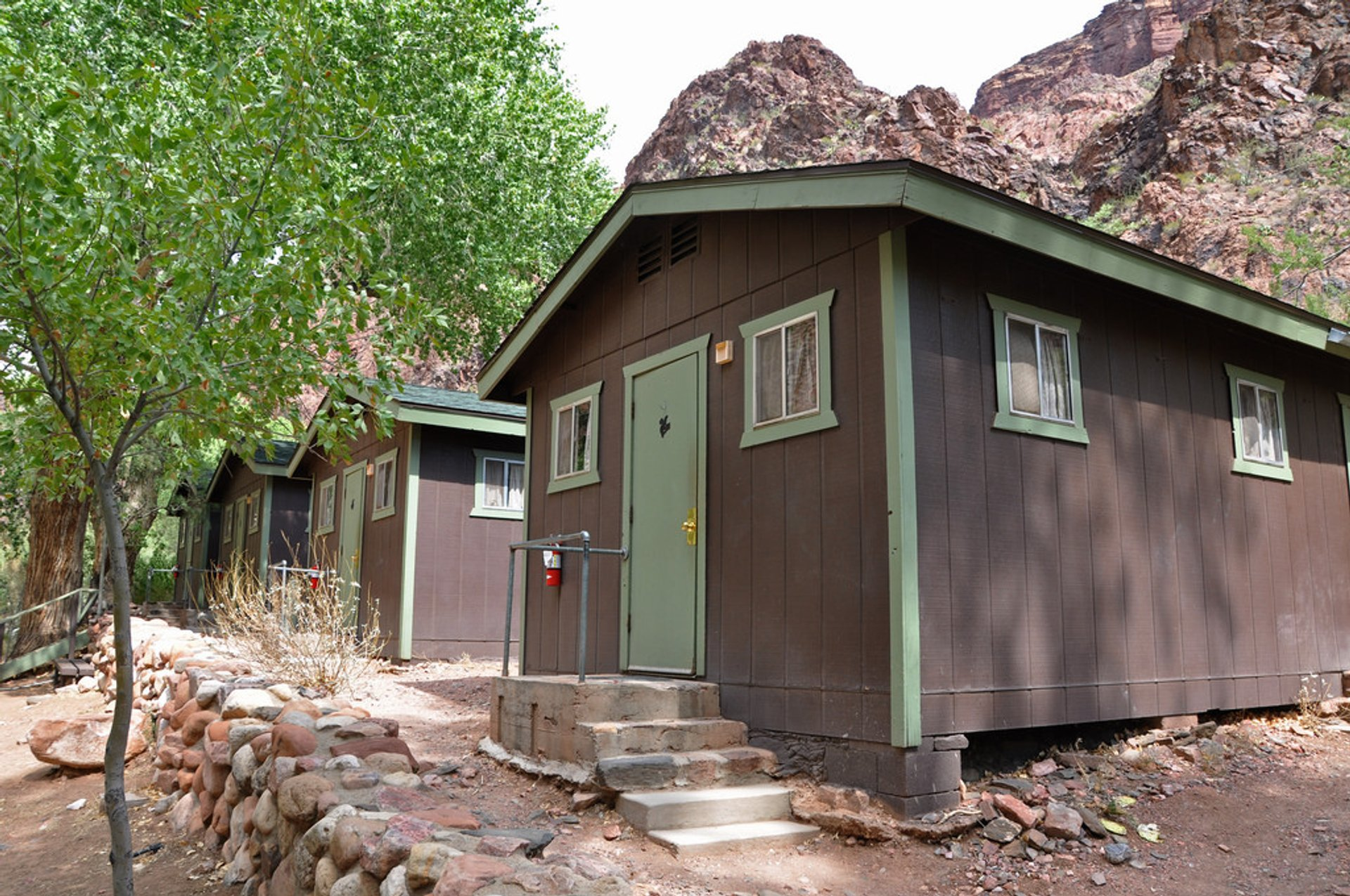 Hiker dormitories at the Phantom Ranch 2020