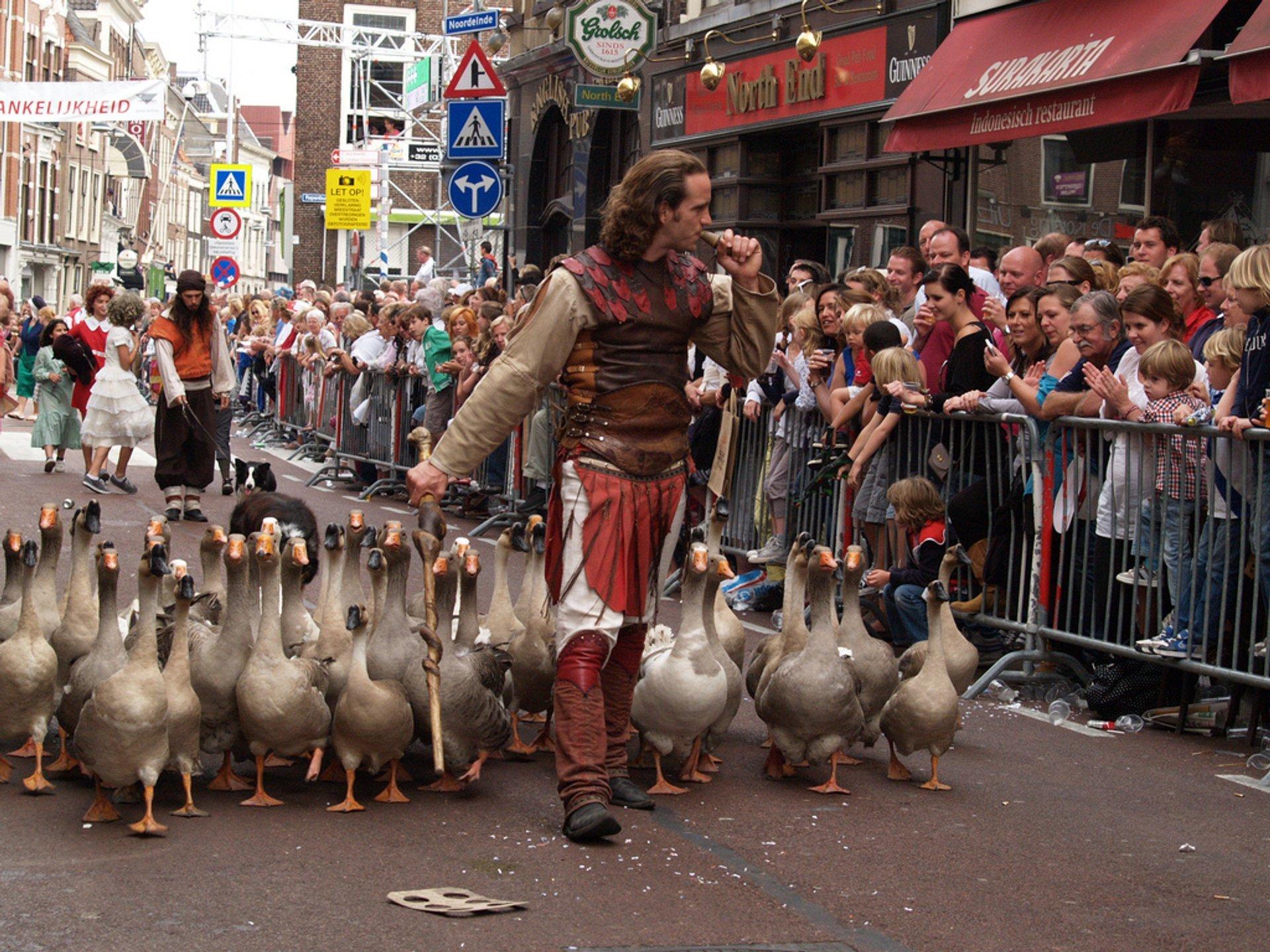 Relief of Leiden in The Netherlands - Best Season 2019