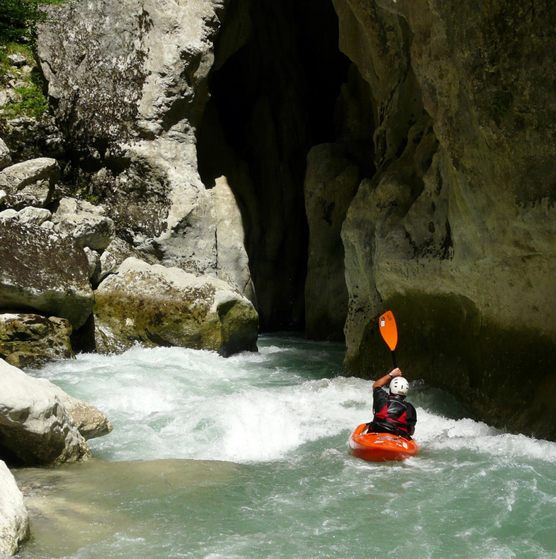 Best time for White Water Rafting in Provence & French Riviera 2019