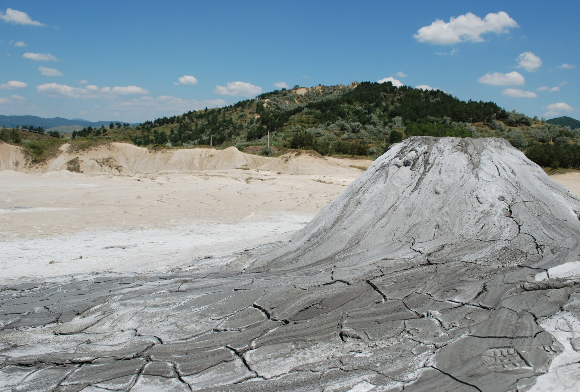 Mud Volcanoes in Romania - Best Season 2020