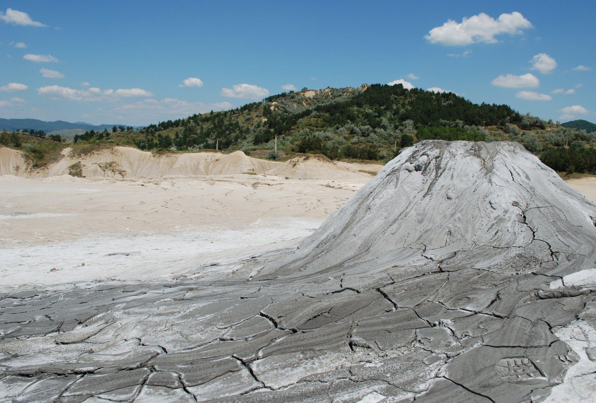Mud Volcanoes in Romania - Best Season 2019