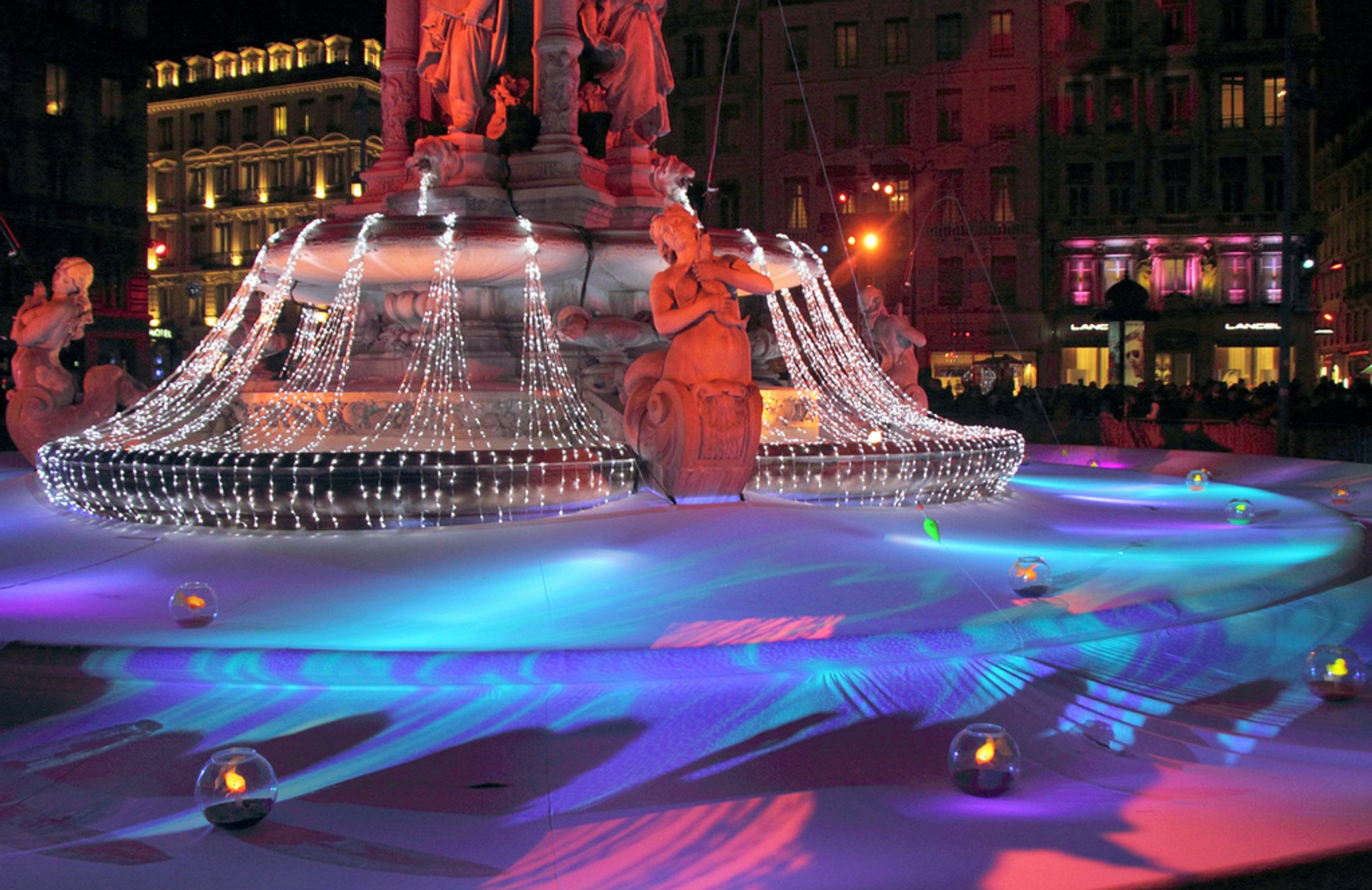 Best time for Lyon Festival of Lights (Fête des Lumières) in France 2019