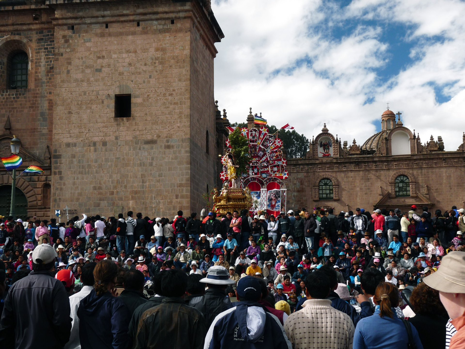 Best time to see Corpus Christi in Machu Picchu and Cusco 2020