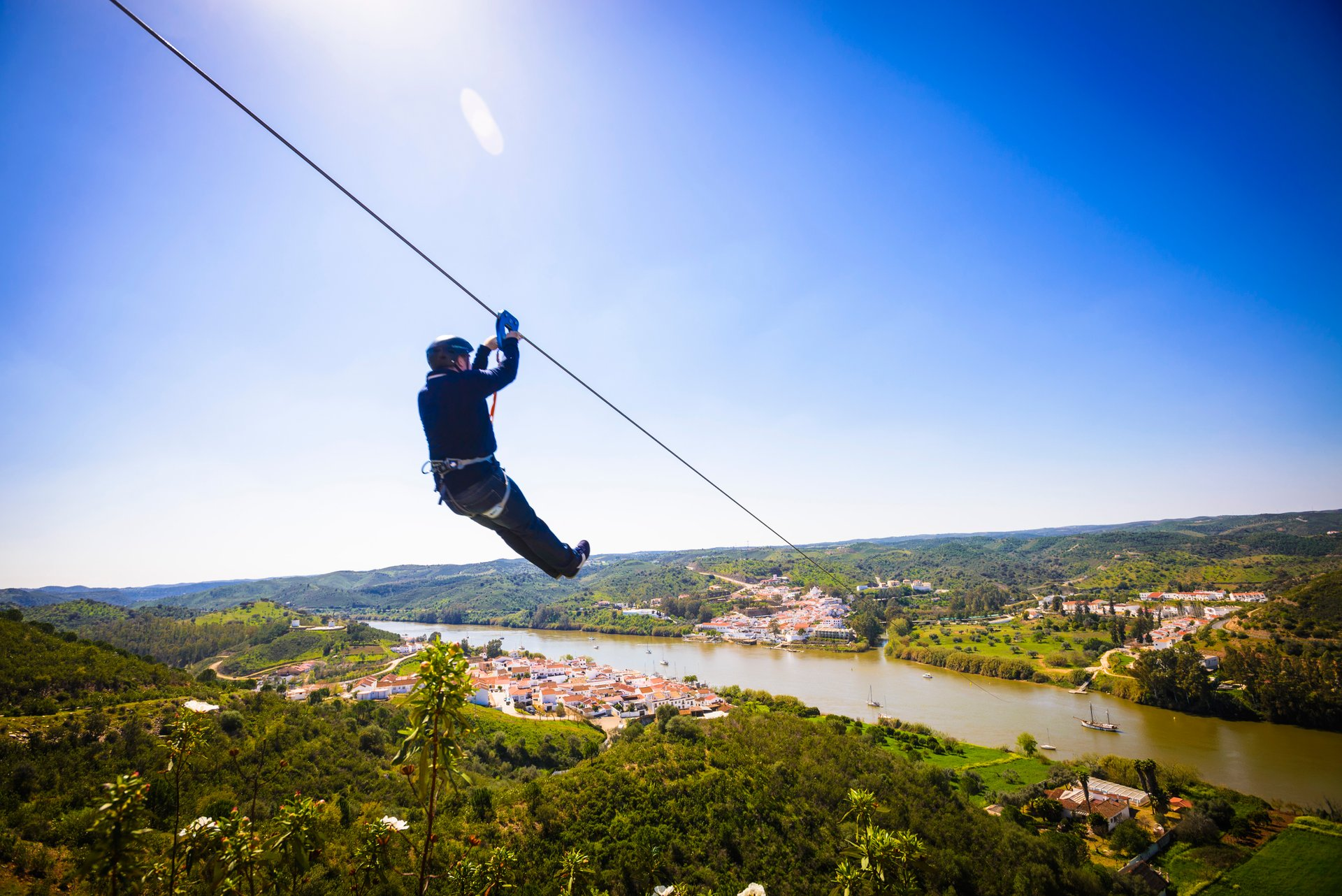Best time for Spain to Portugal Zip Line (Limite Zero) in Spain 2019