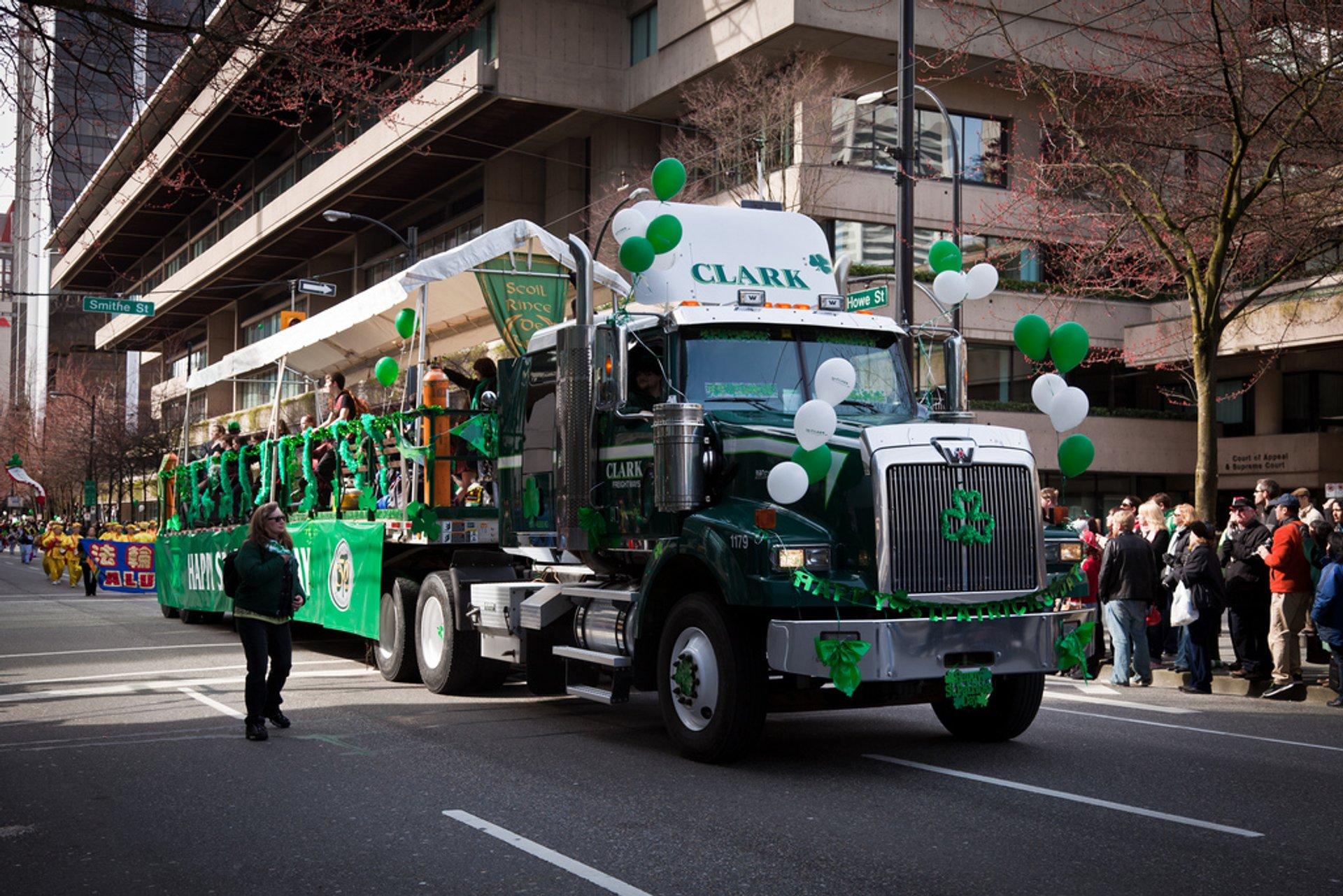 Best time to see St. Patrick's Day Week in Vancouver 2019