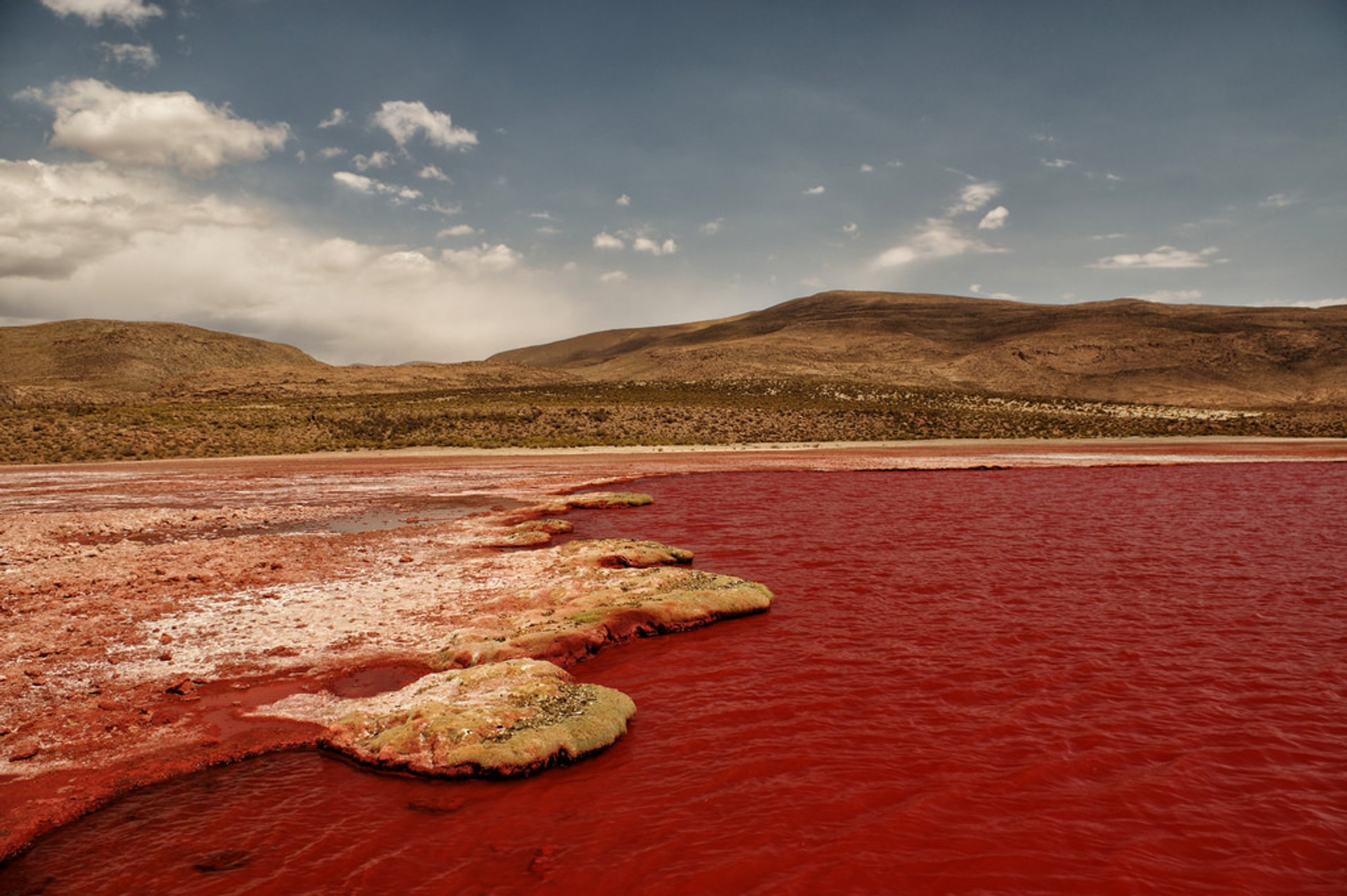 Laguna Roja or Devil's Lagoon in Chile 2020 - Best Time