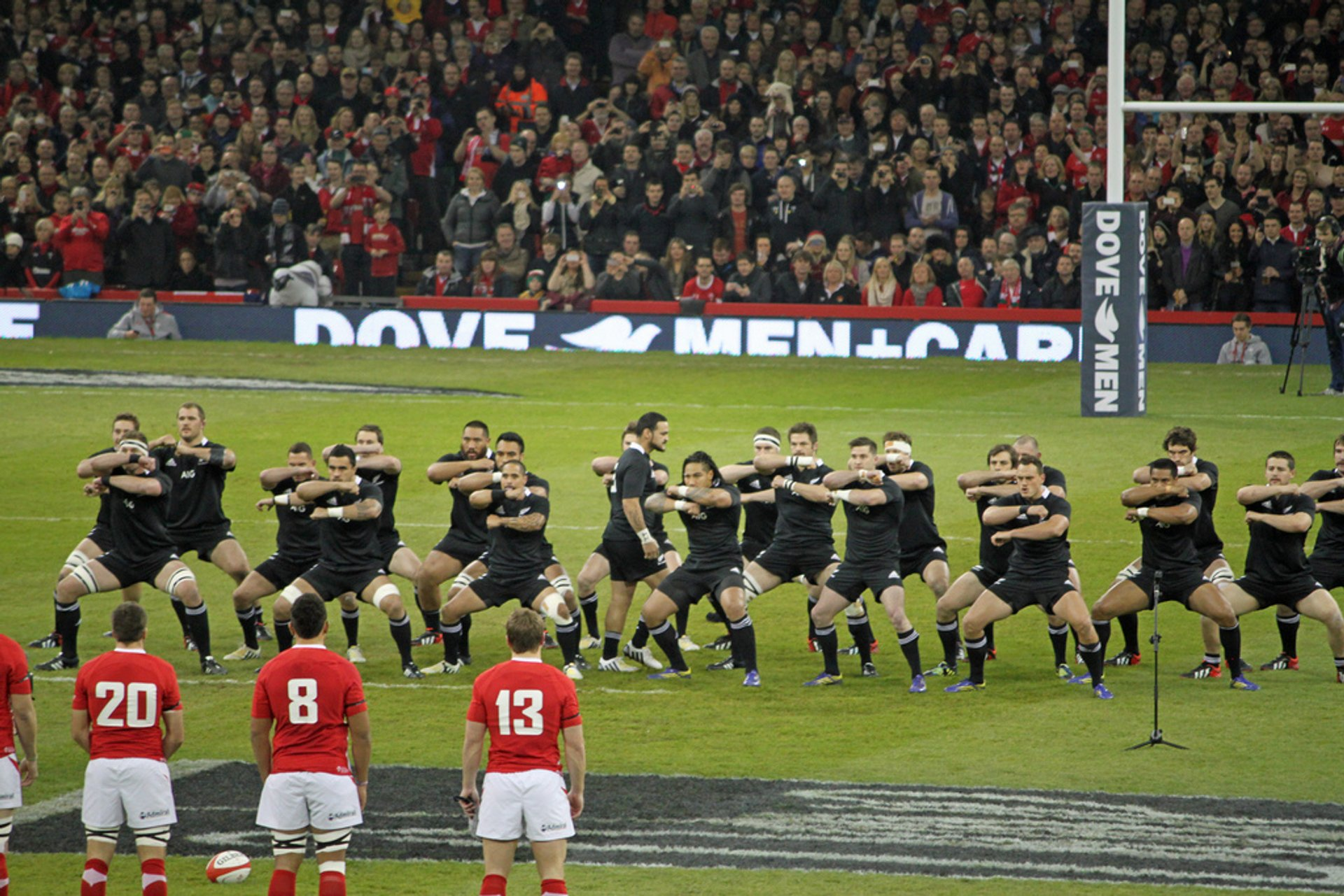 Wales v New Zealand (All Blacks) 2020