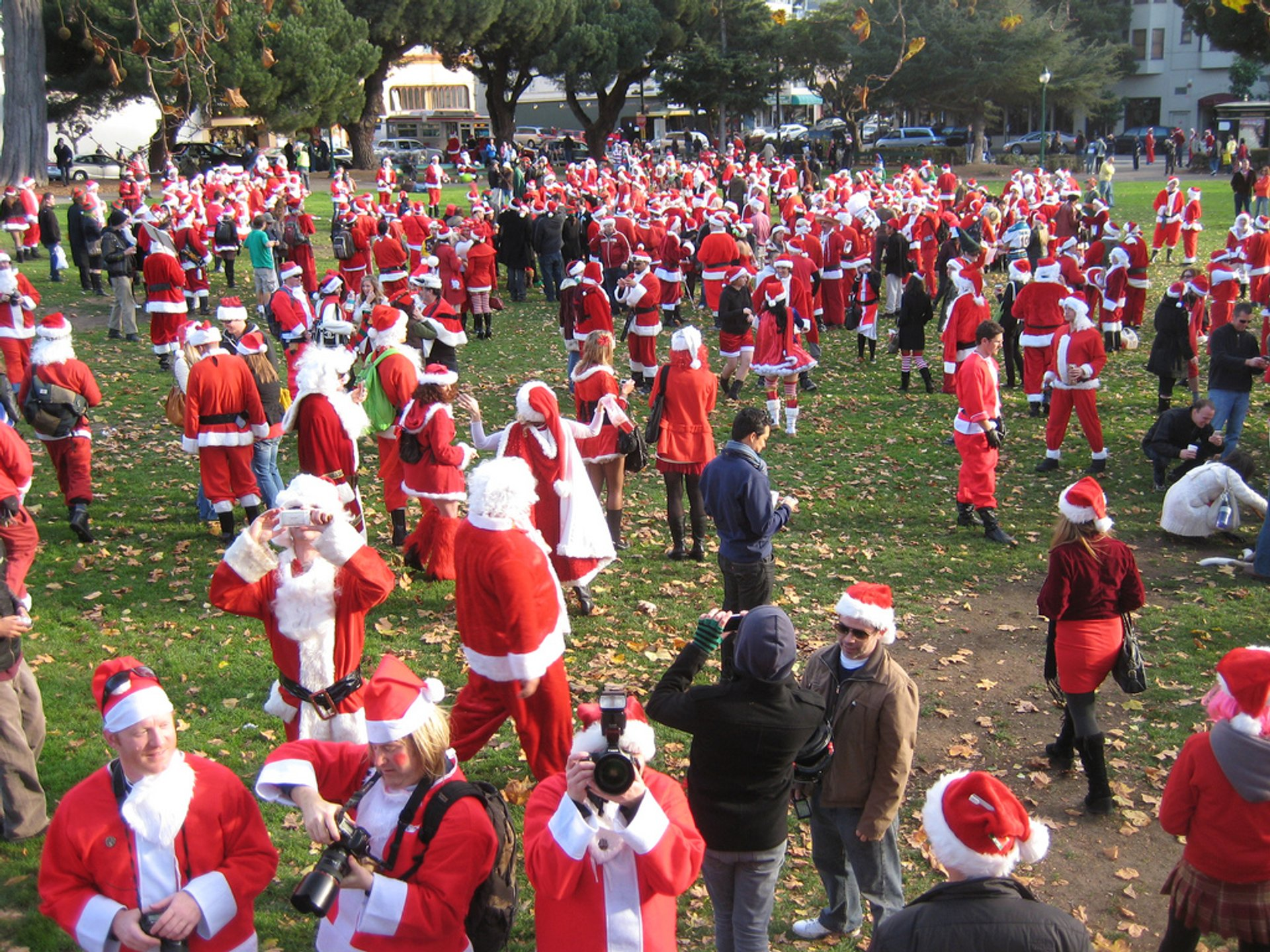 SantaCon in San Francisco 2020 - Best Time