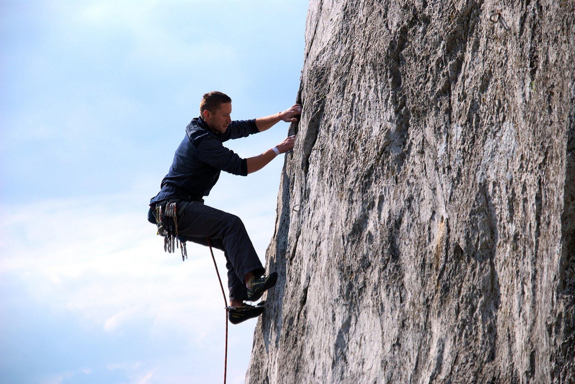 Rock Climbing in Slovakia - Best Season 2020