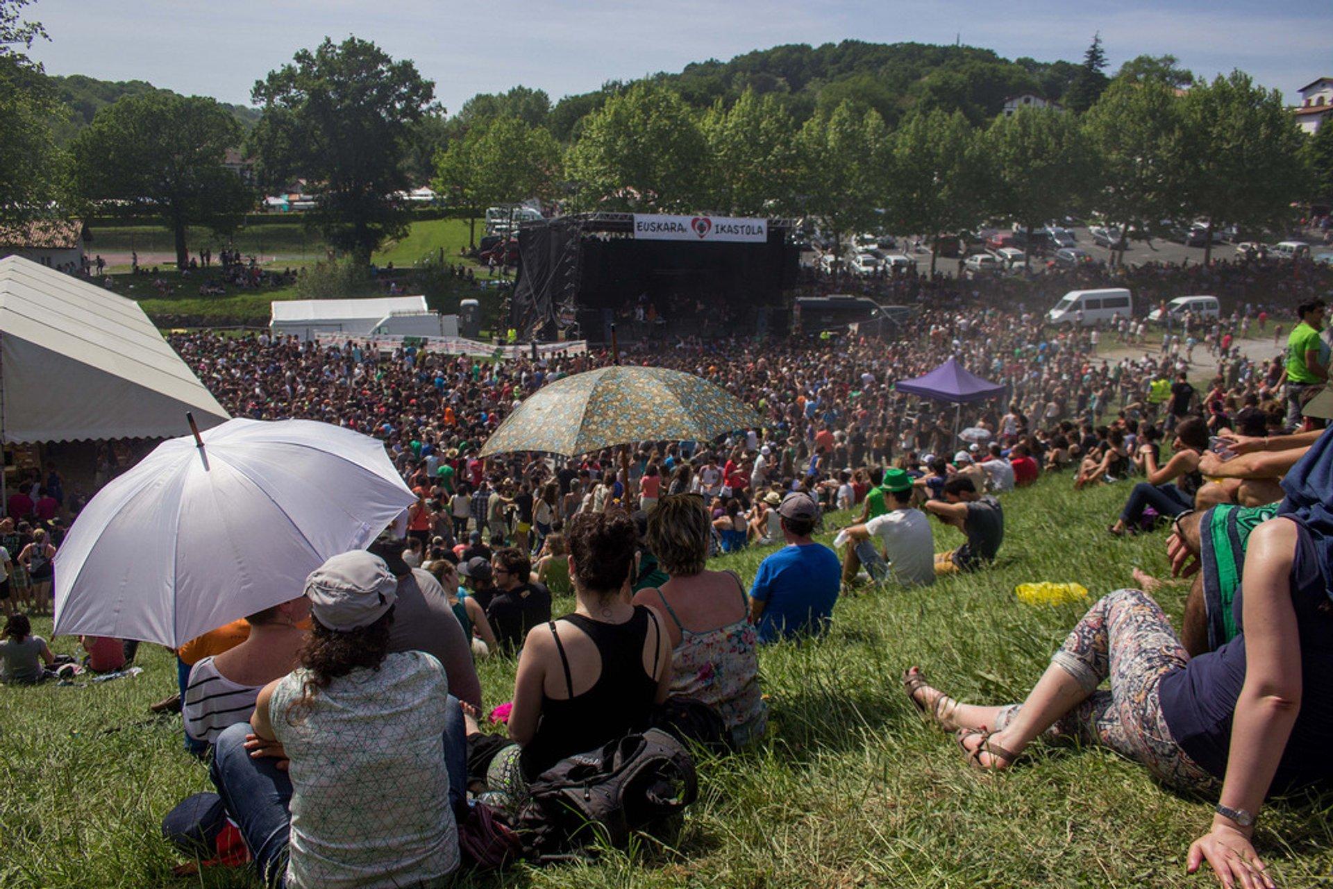 Herri Urrats Festival in France 2020 - Best Time
