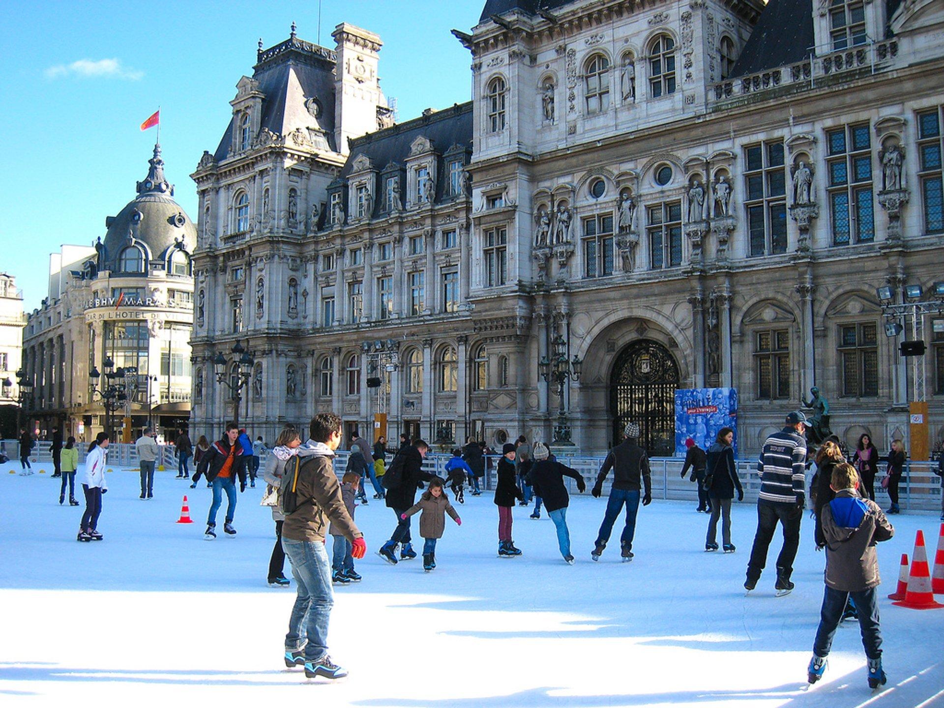 Ice Skating in Paris 2020 - Best Time