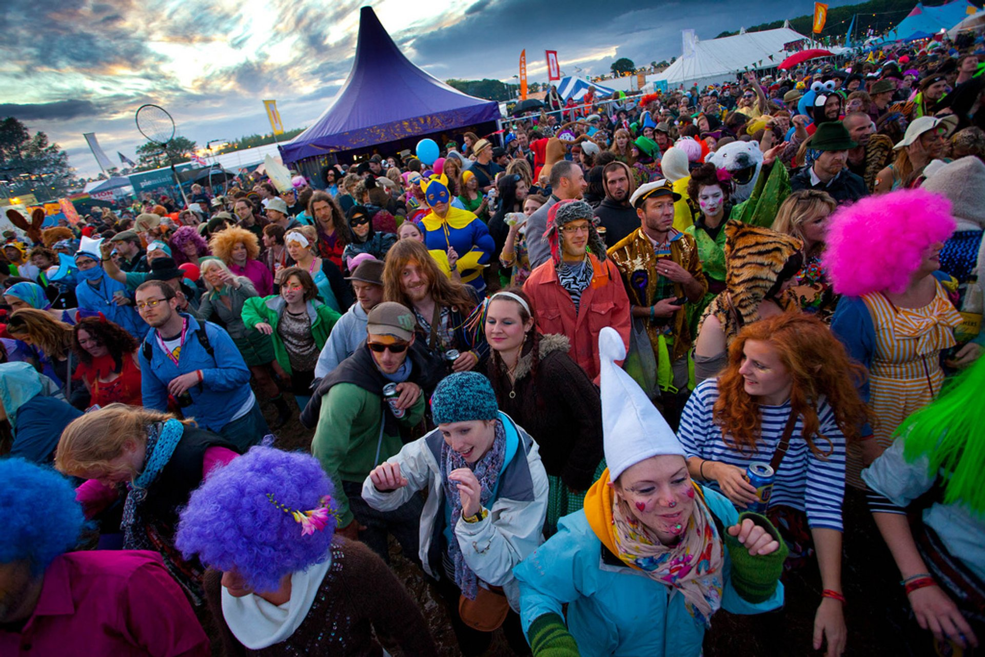 Best time for Shambala Festival in England 2020